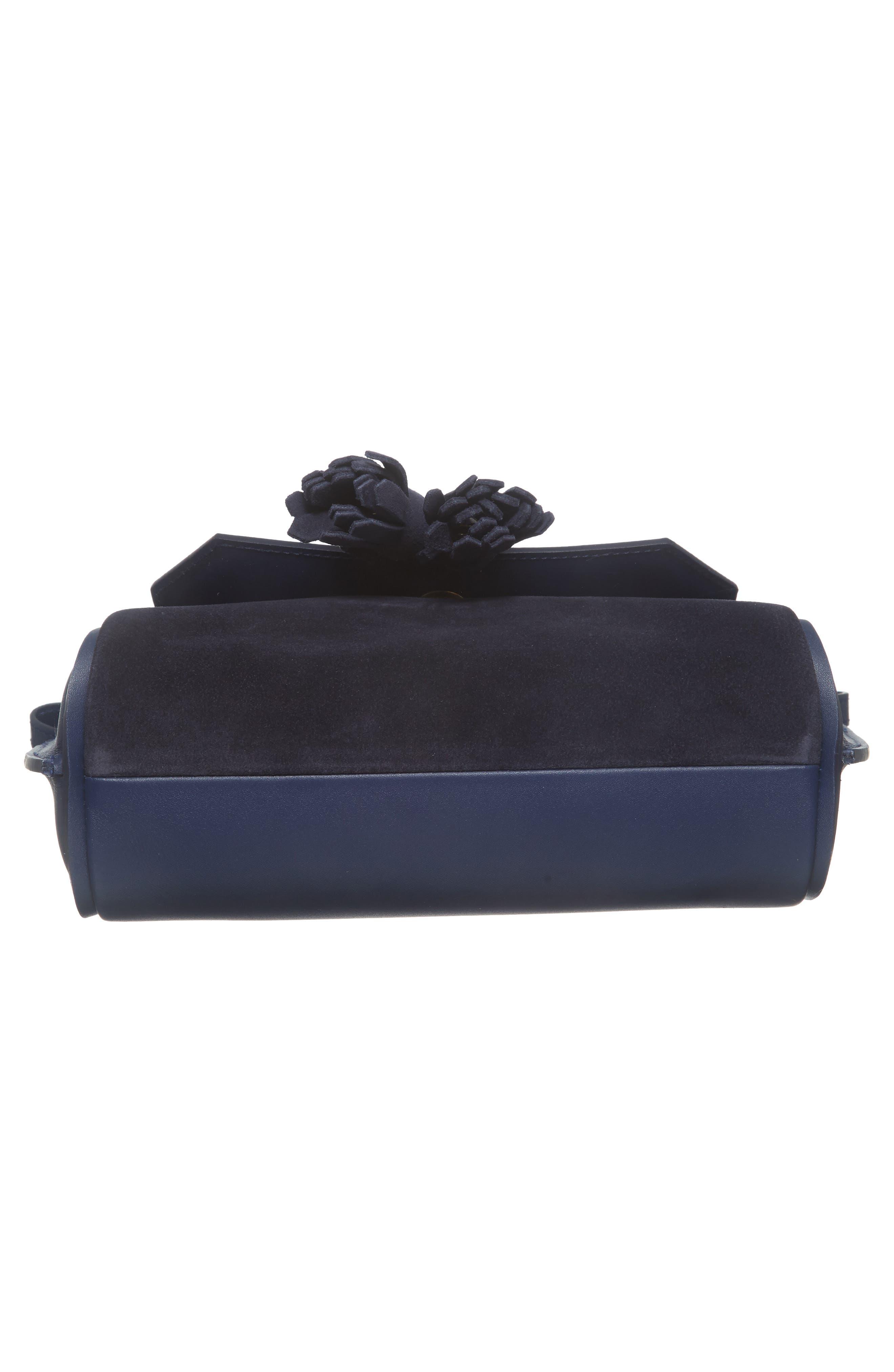 Small Penelope Leather Crossbody Bag,                             Alternate thumbnail 6, color,                             400