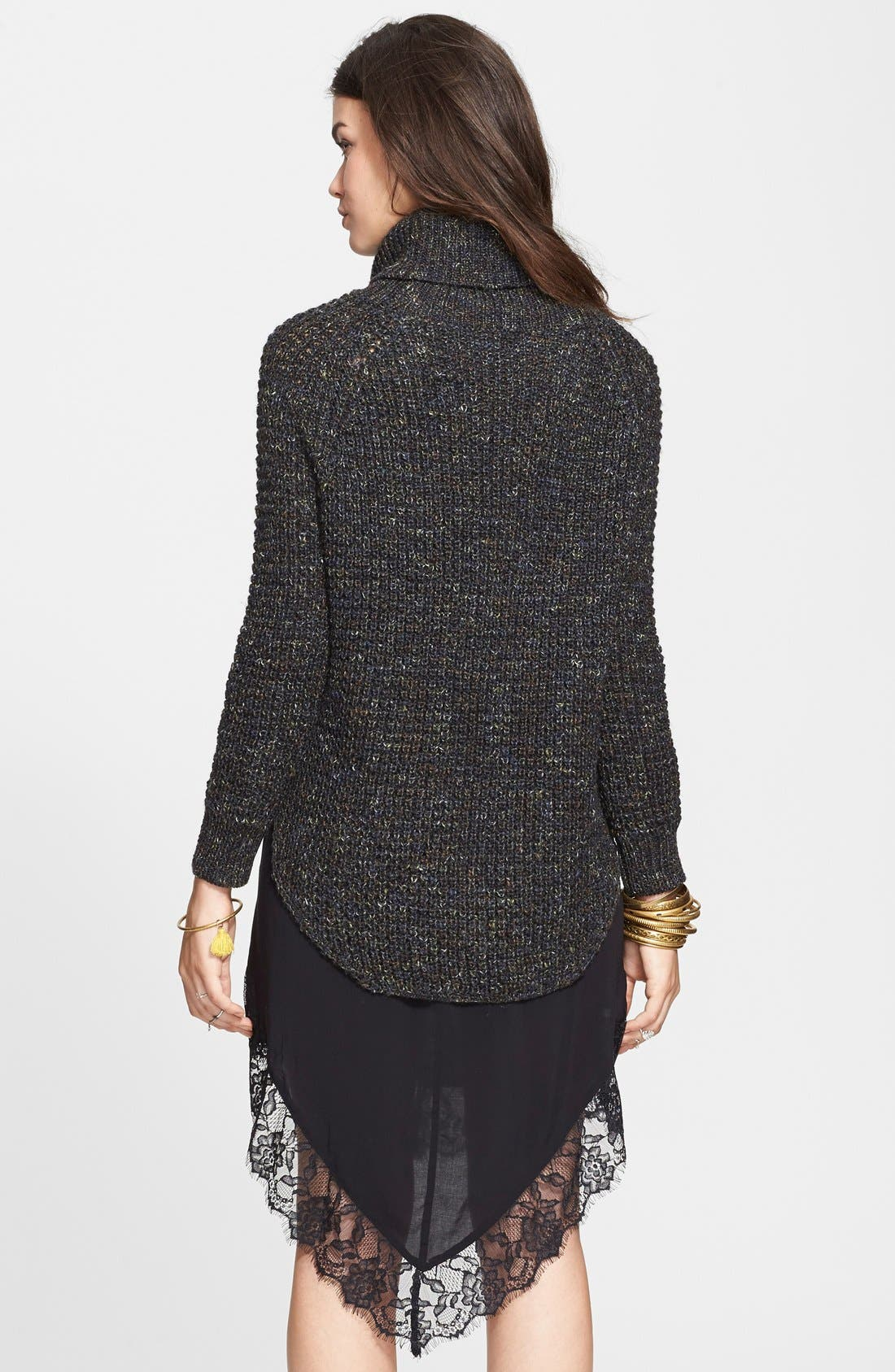 FREE PEOPLE,                             Turtleneck Pullover,                             Alternate thumbnail 3, color,                             020
