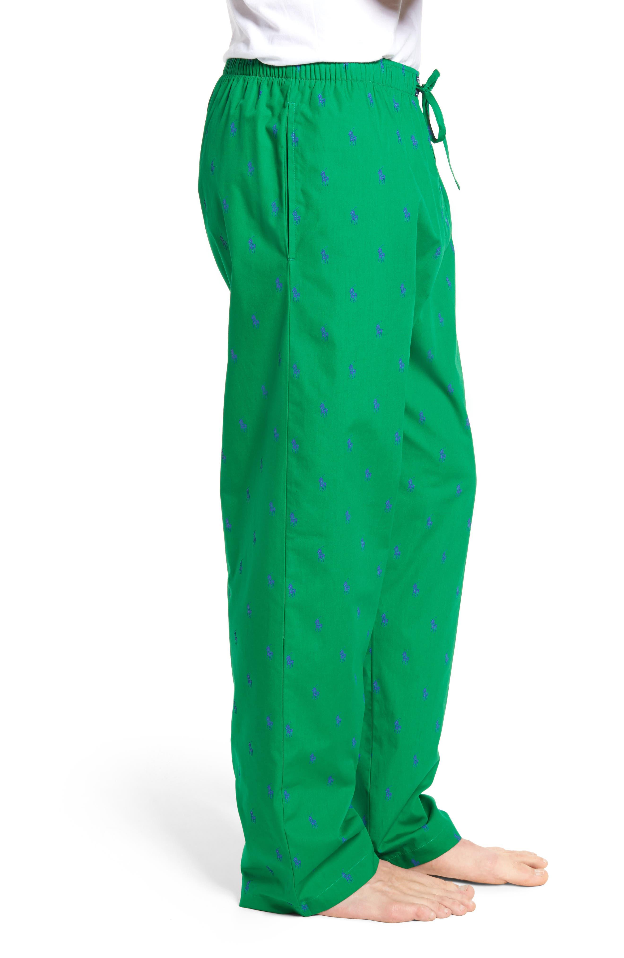 Polo Ralph Lauren Cotton Lounge Pants,                             Alternate thumbnail 12, color,