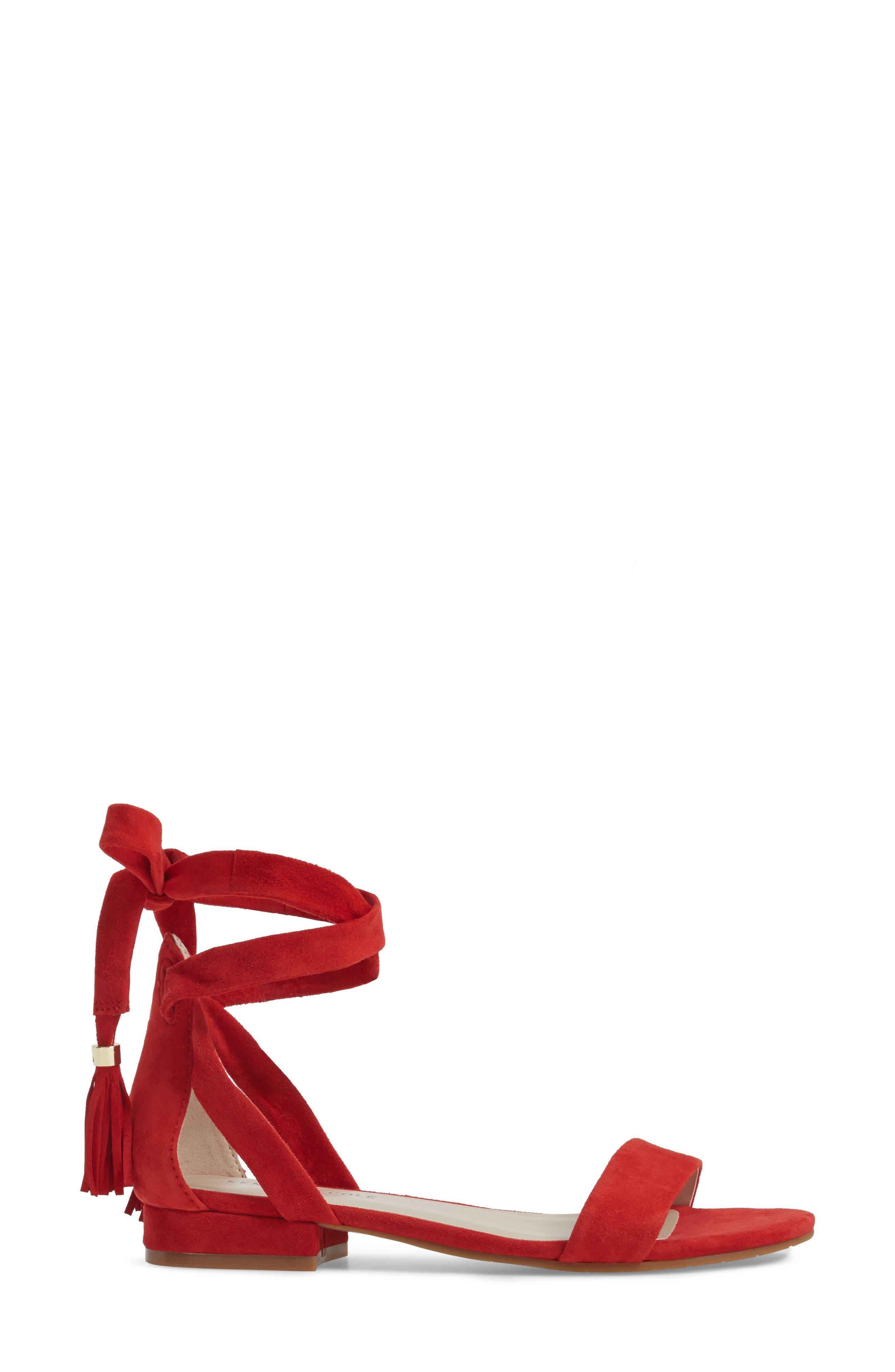 Valen Tassel Lace-Up Sandal,                             Alternate thumbnail 39, color,