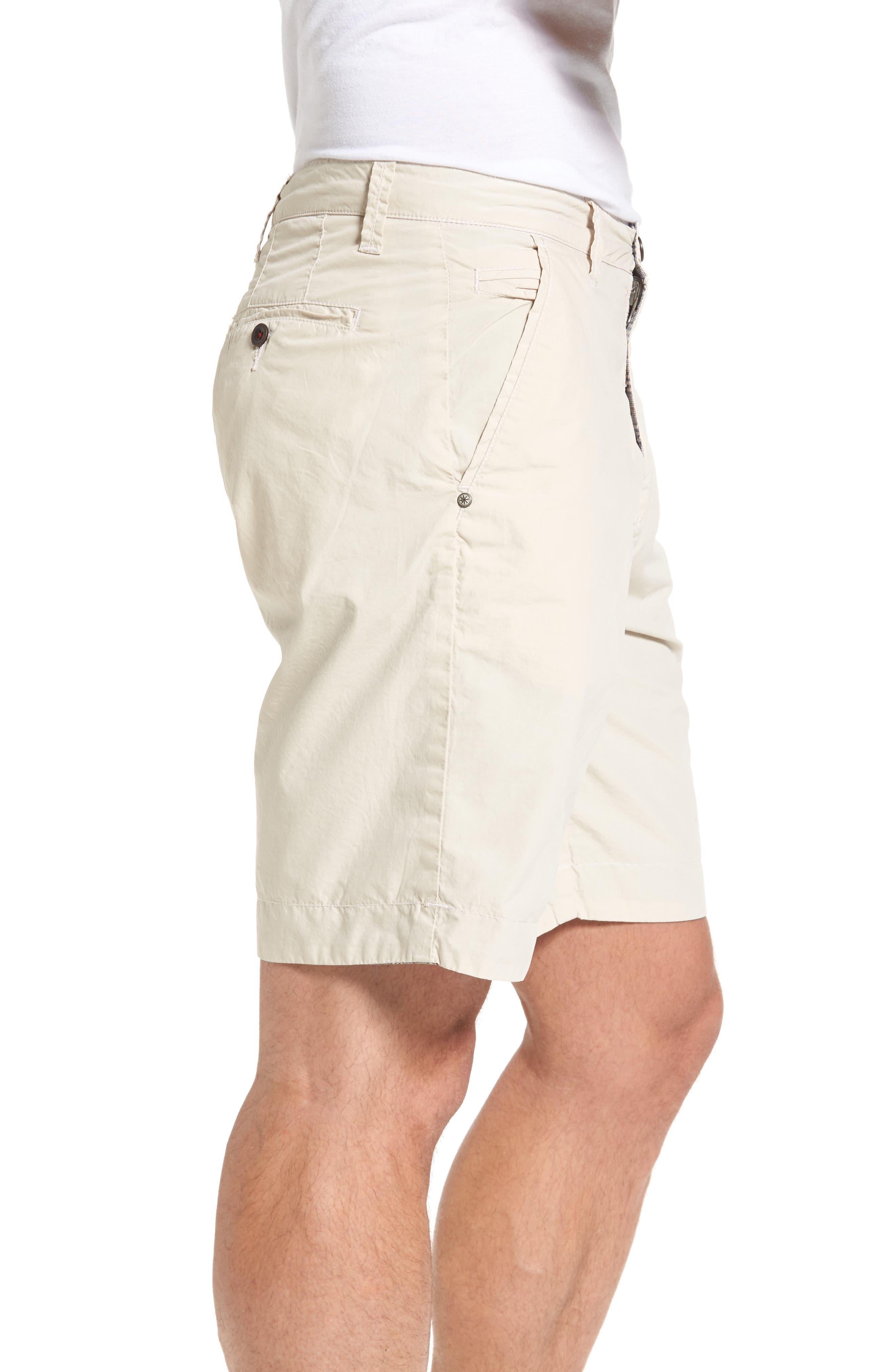 Darlington Reversible Flat Front Shorts,                             Alternate thumbnail 3, color,                             290