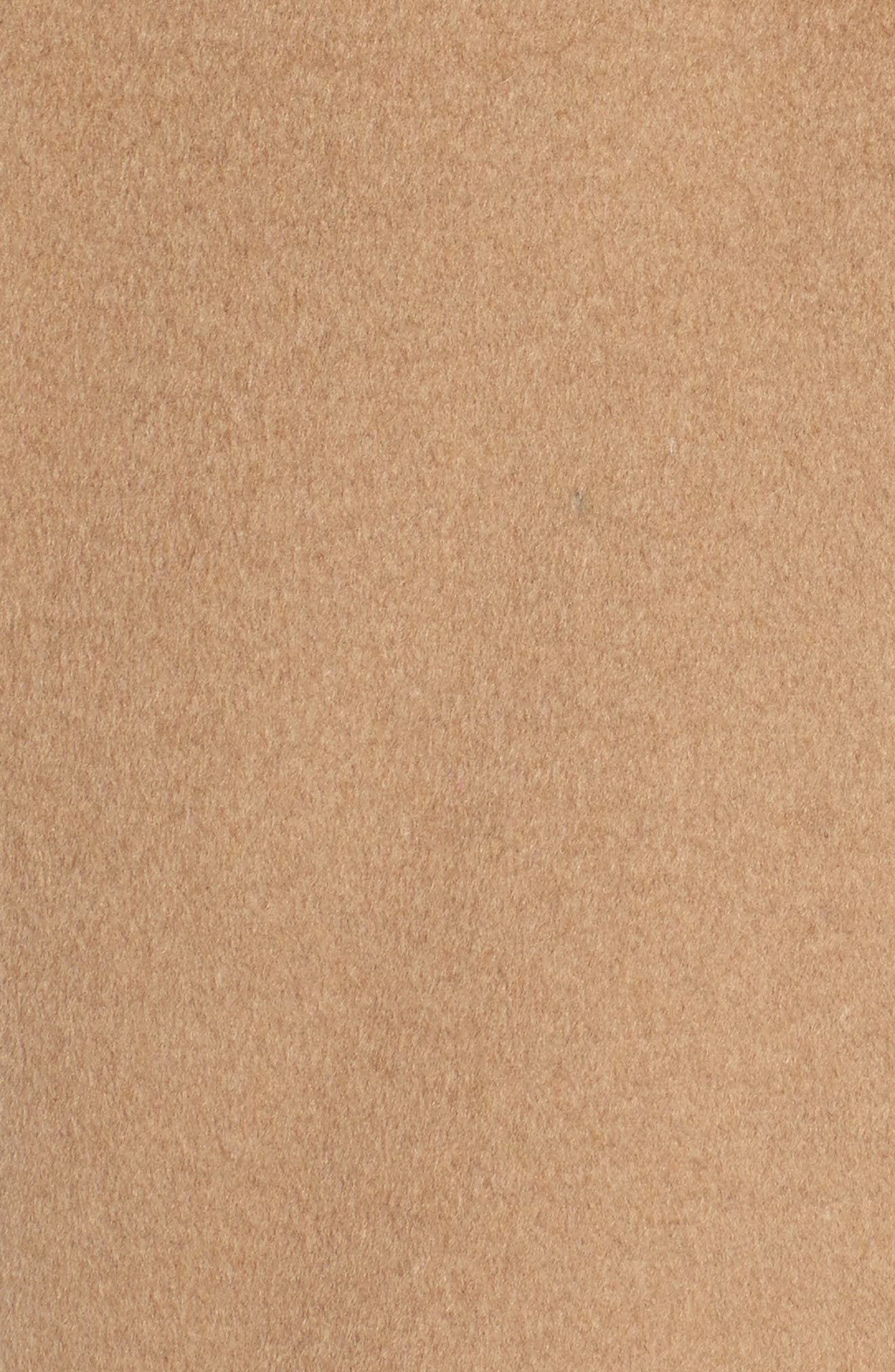 DKNY Wool Blend Shawl Collar Wrap Coat,                             Alternate thumbnail 6, color,                             252