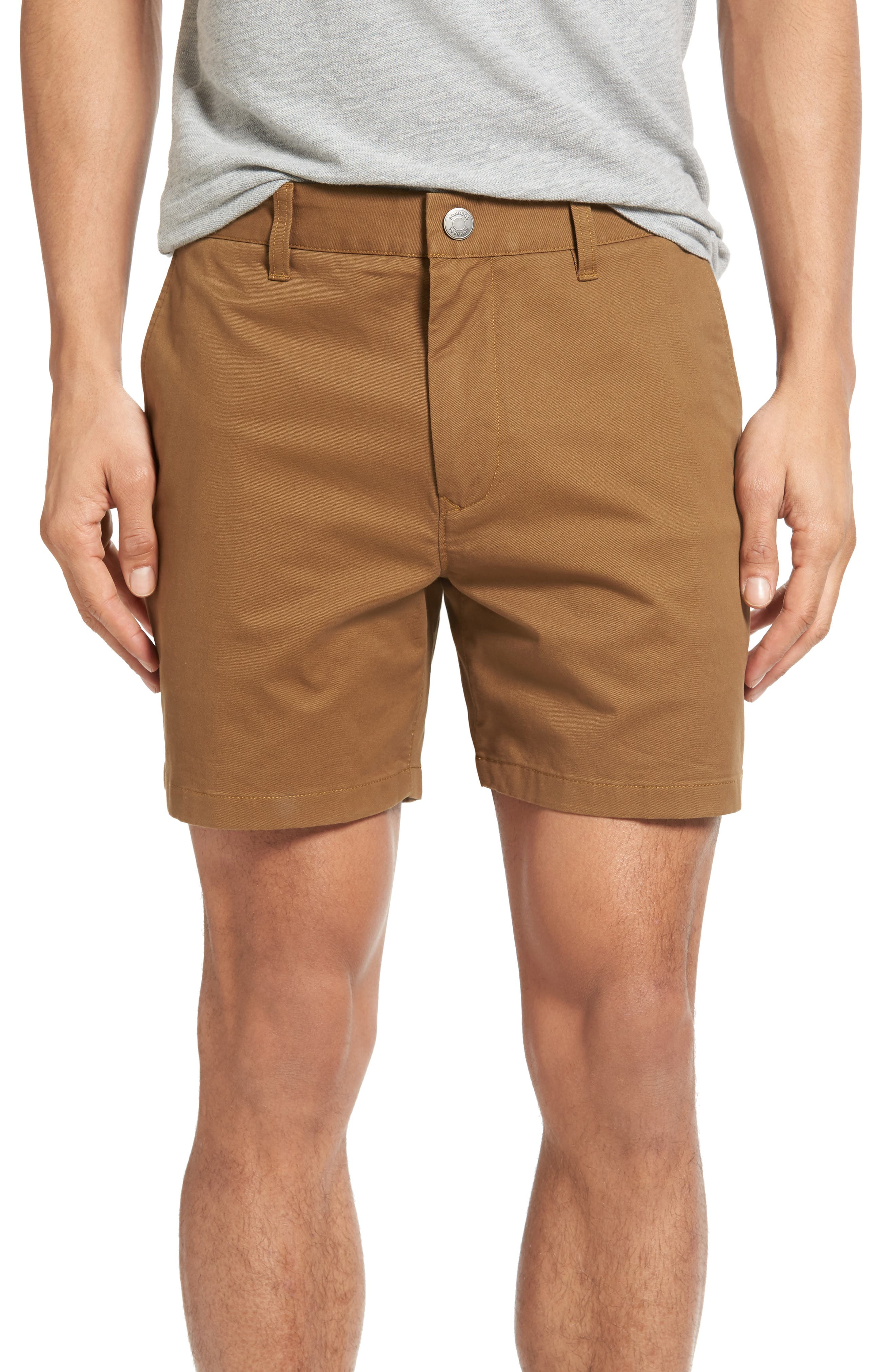 Stretch Washed Chino 5-Inch Shorts,                             Main thumbnail 23, color,