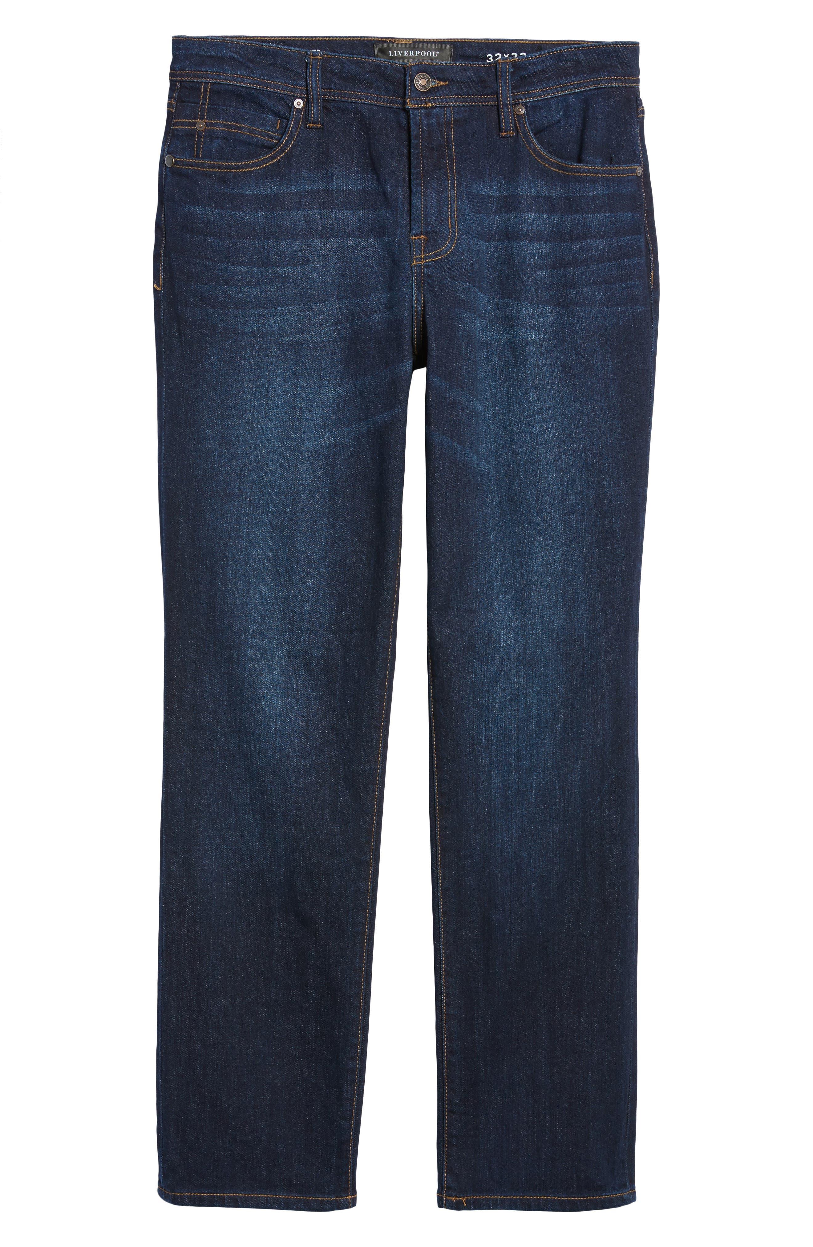 Jeans Co. Regent Relaxed Fit Jeans,                             Alternate thumbnail 6, color,                             SAN ARDO VINTAGE DARK