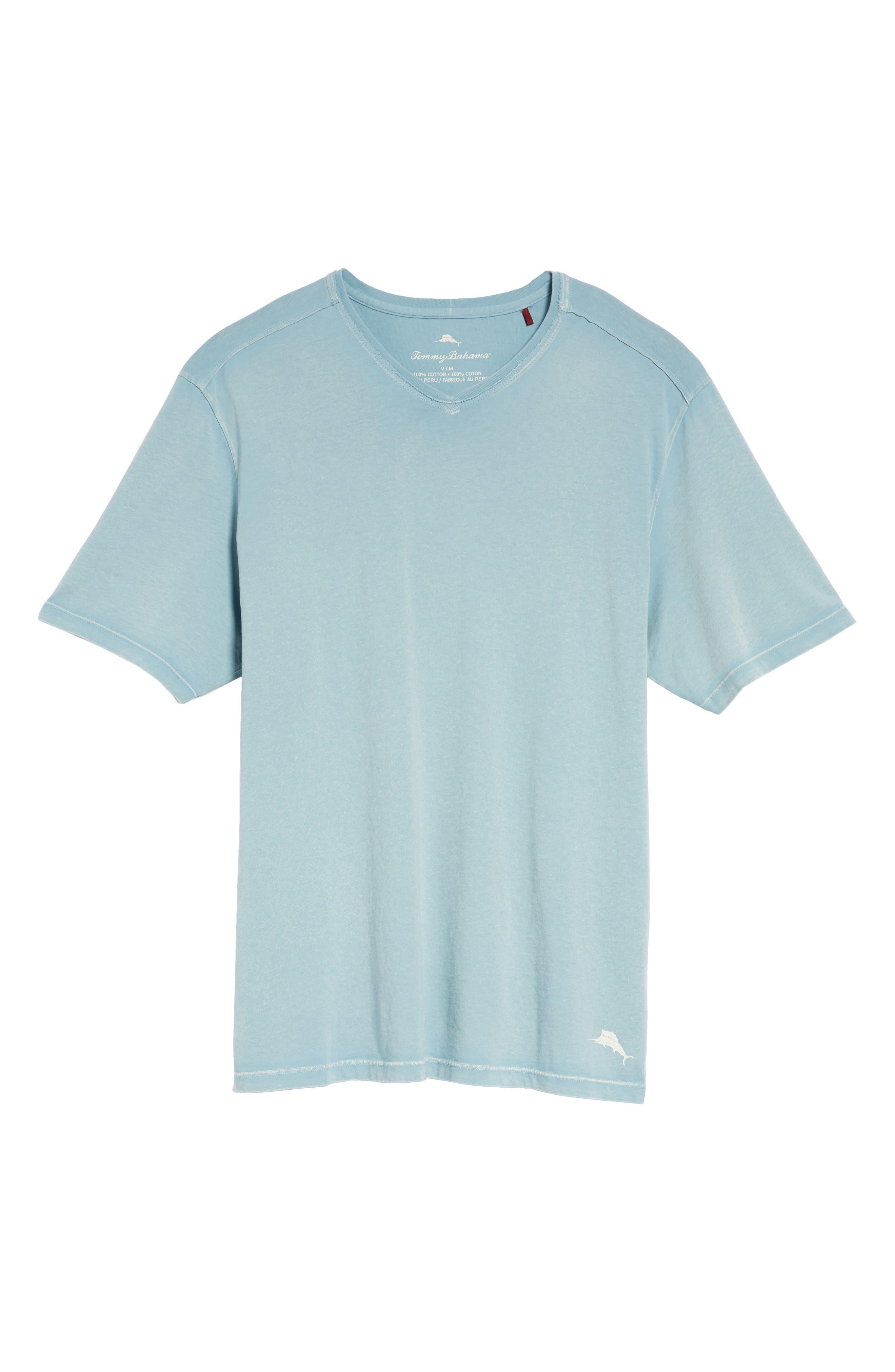 'Kahuna' V-Neck T-Shirt,                             Alternate thumbnail 6, color,                             303