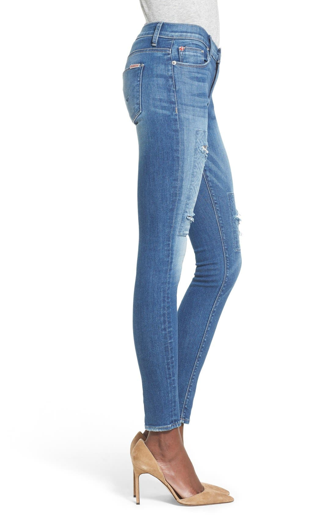 'Nico' Super Skinny Jeans,                             Alternate thumbnail 15, color,