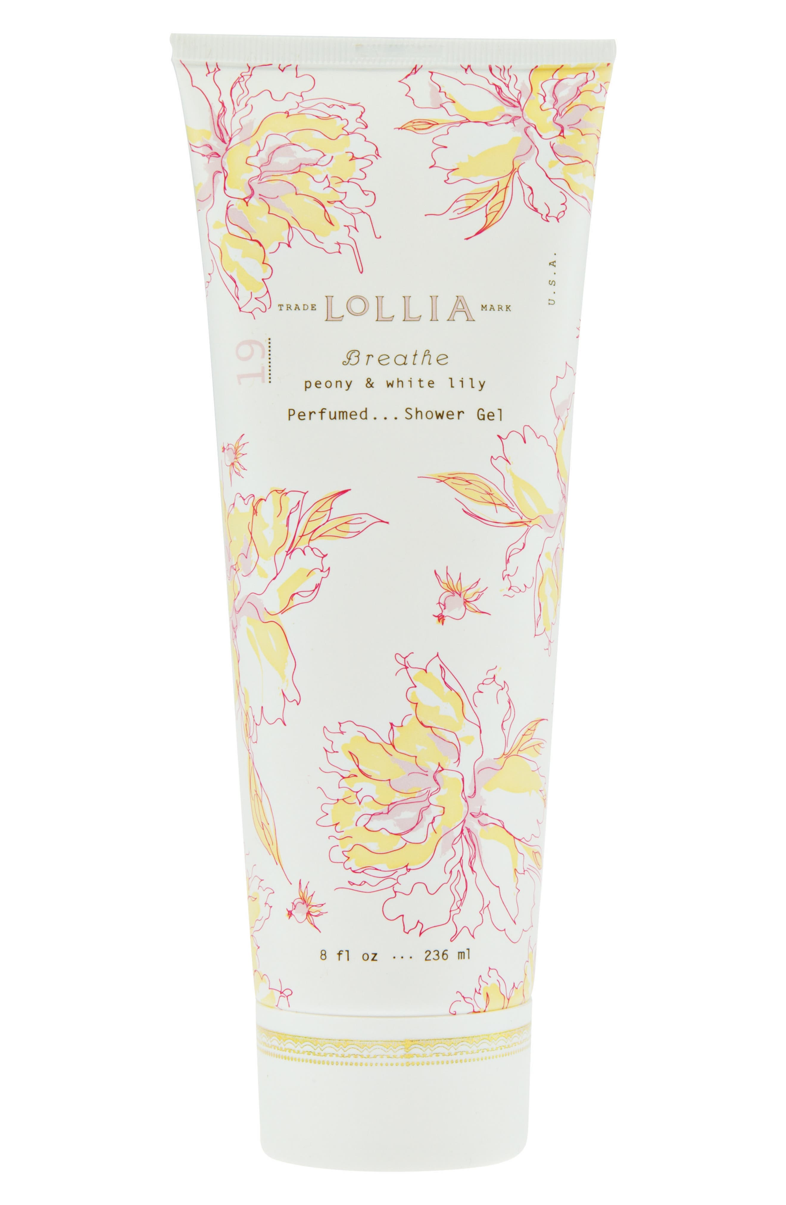 Breathe Perfumed Shower Gel,                             Main thumbnail 1, color,                             650