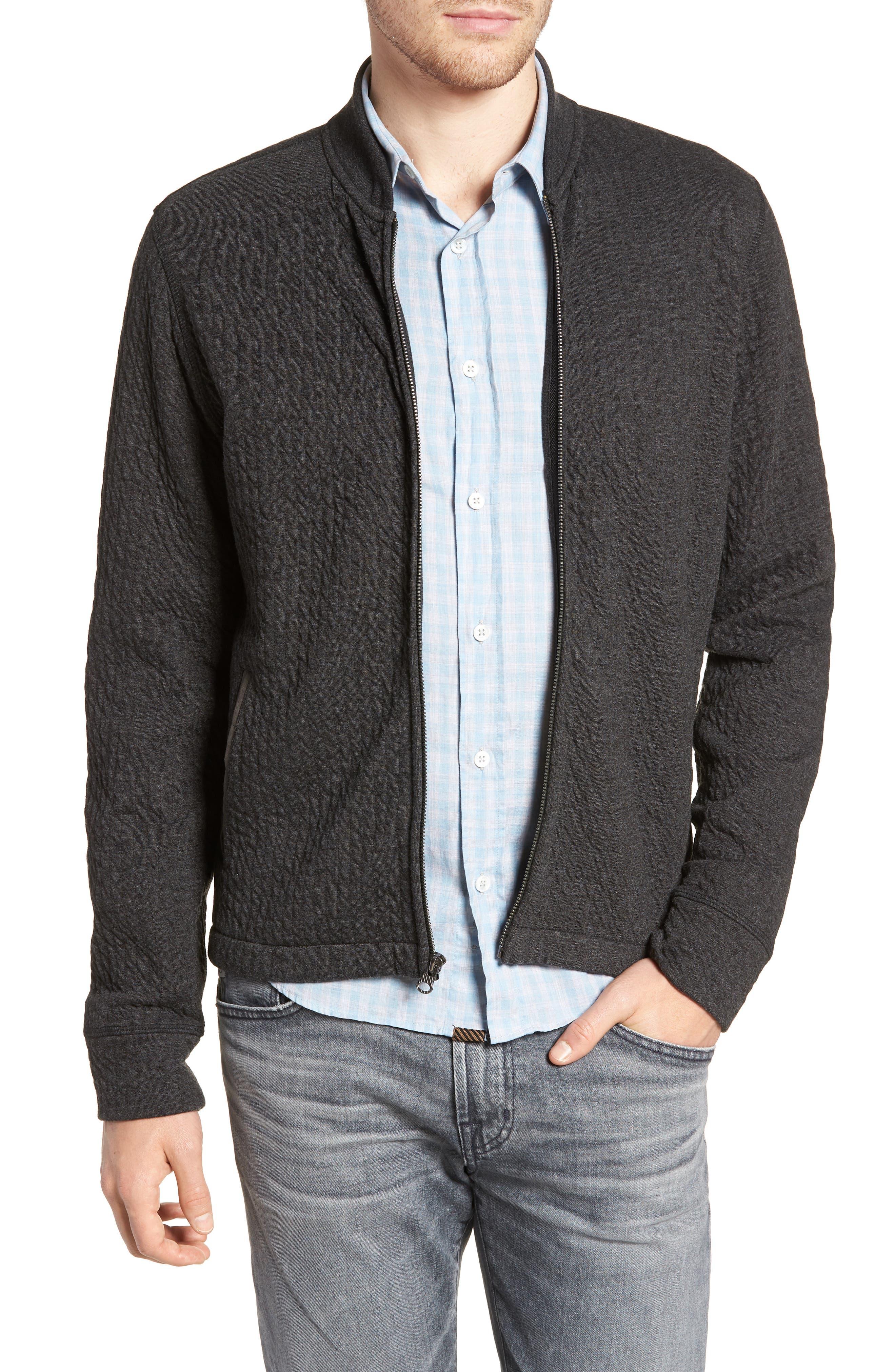 Giles Slim Fit Zip-Up Sweatshirt,                         Main,                         color, 402