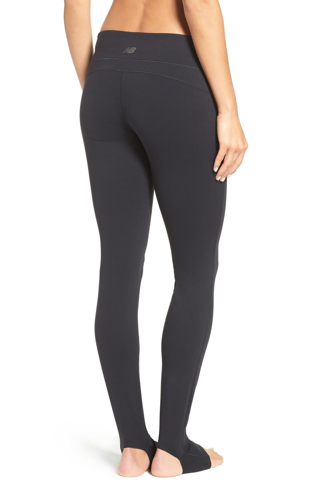 Foiled Stirrup Tights,                             Alternate thumbnail 2, color,                             001