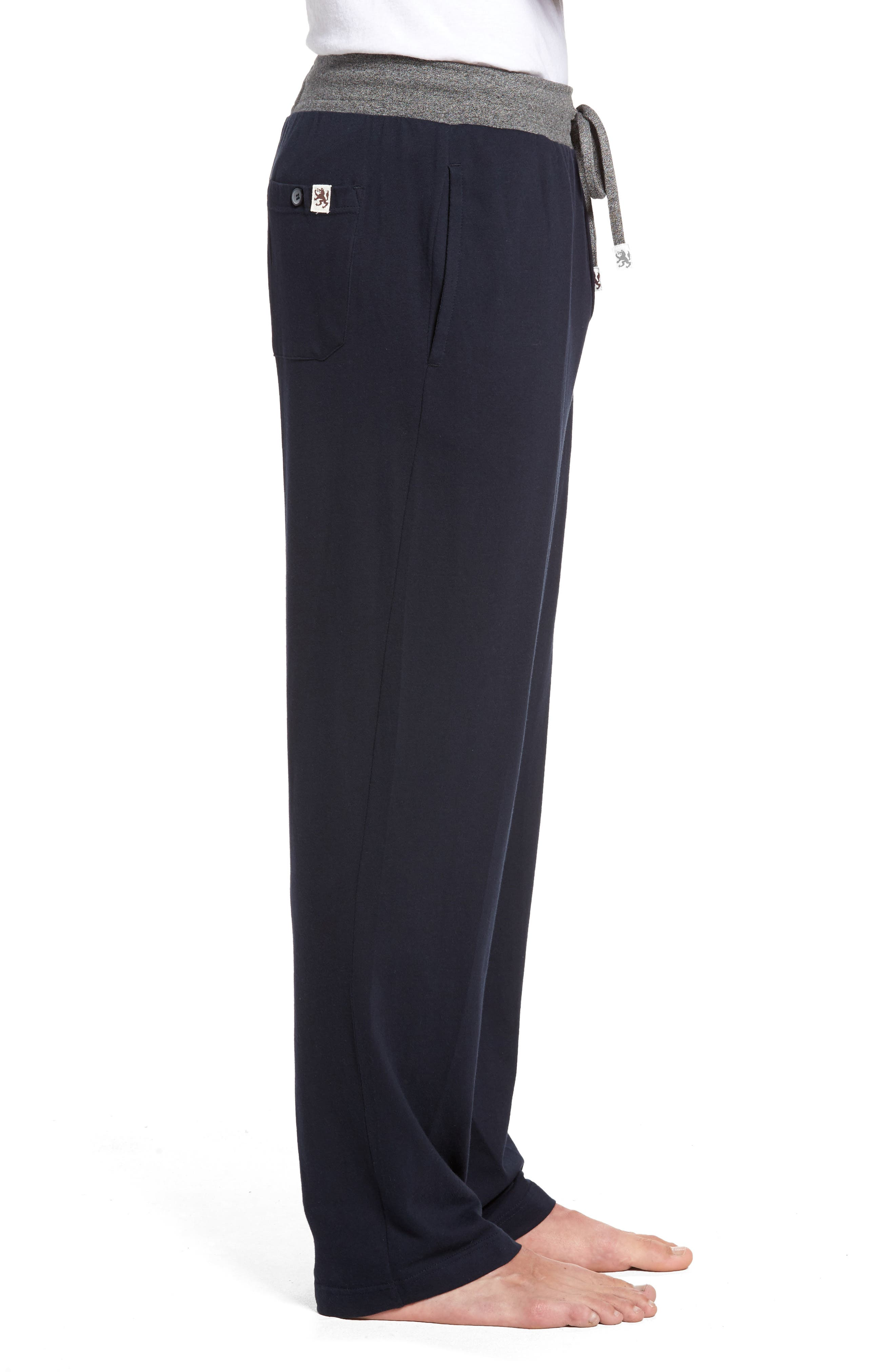 Trey Knit Lounge Pants,                             Alternate thumbnail 4, color,                             400