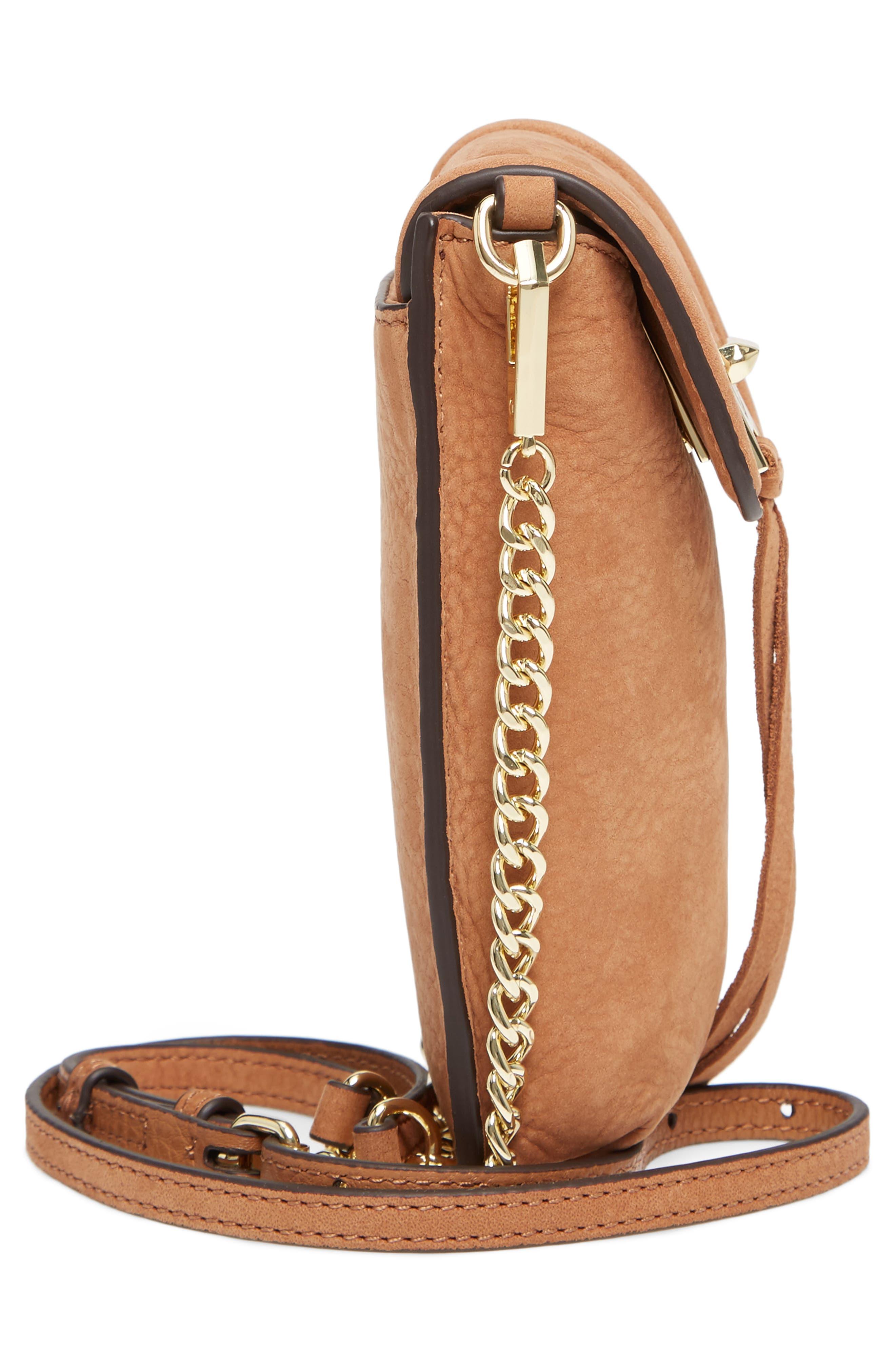 Darren Leather Phone Crossbody Bag,                             Alternate thumbnail 5, color,                             230