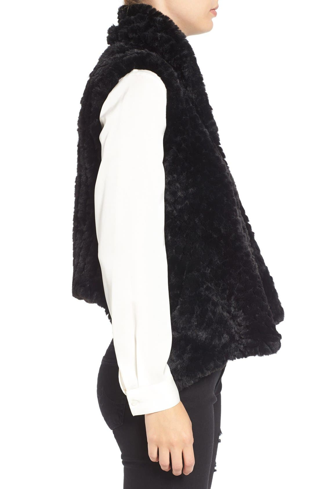 Faux Fur Vest,                             Alternate thumbnail 8, color,