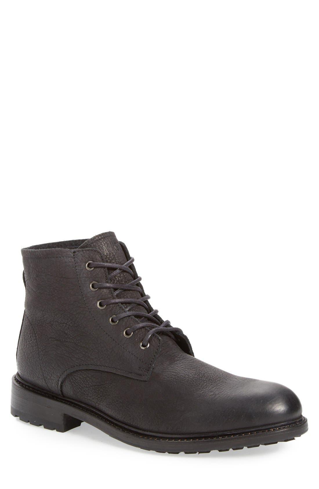 'KM32' Plain Toe Boot,                             Main thumbnail 1, color,                             001