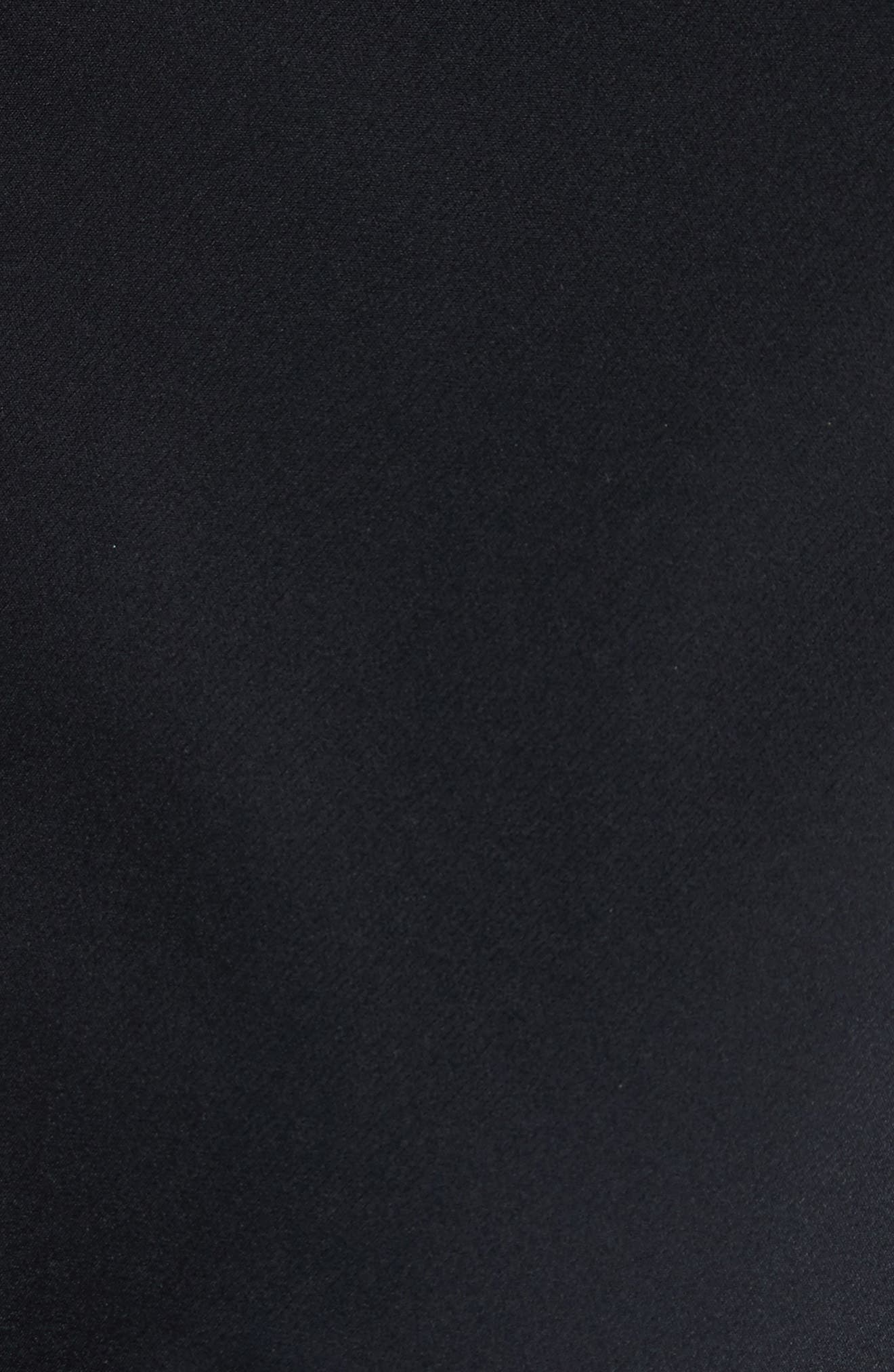 Ava Peplum Jacket,                             Alternate thumbnail 6, color,                             BLACK