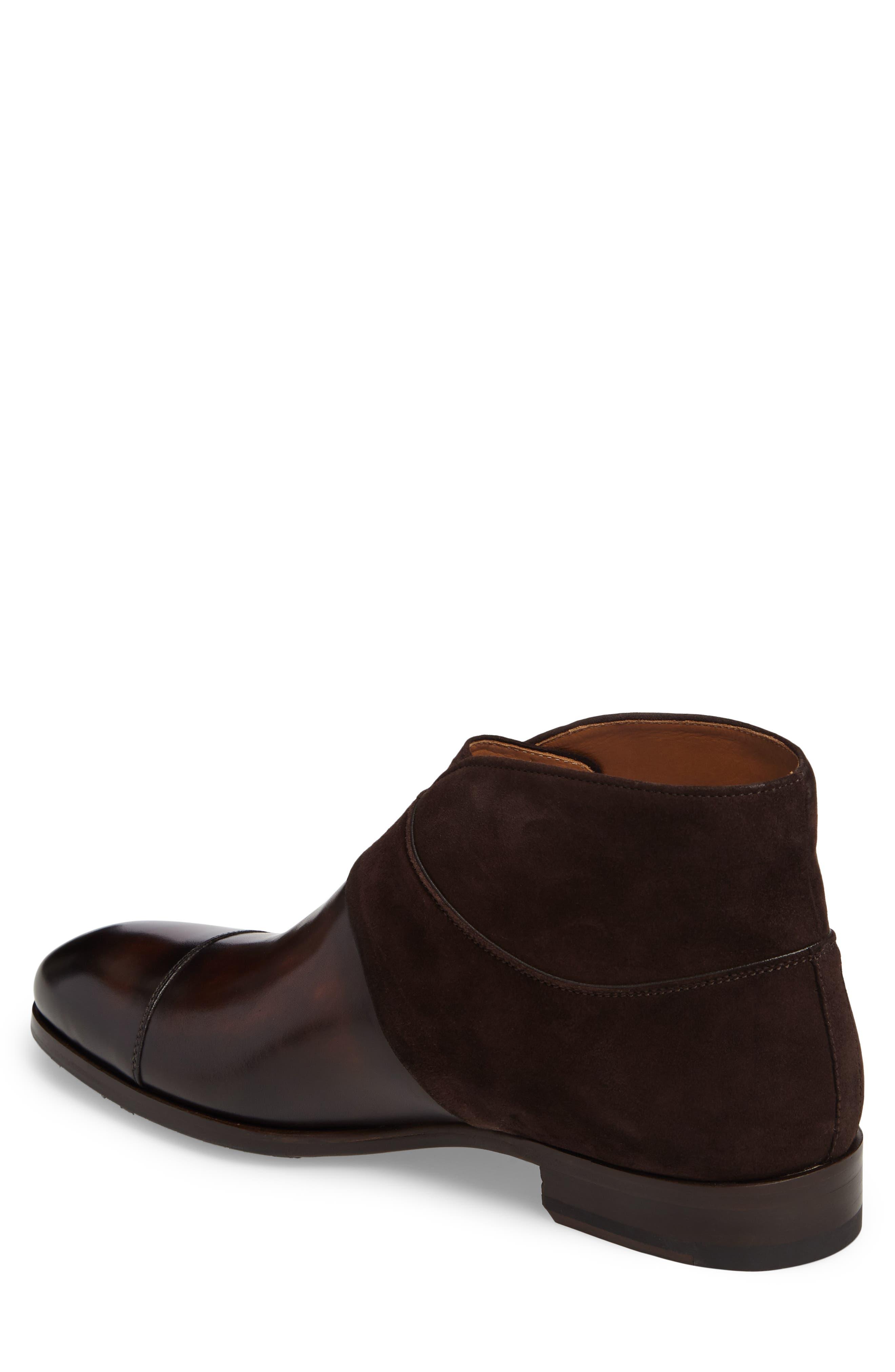 Octavian Double Monk Strap Boot,                             Alternate thumbnail 2, color,                             200