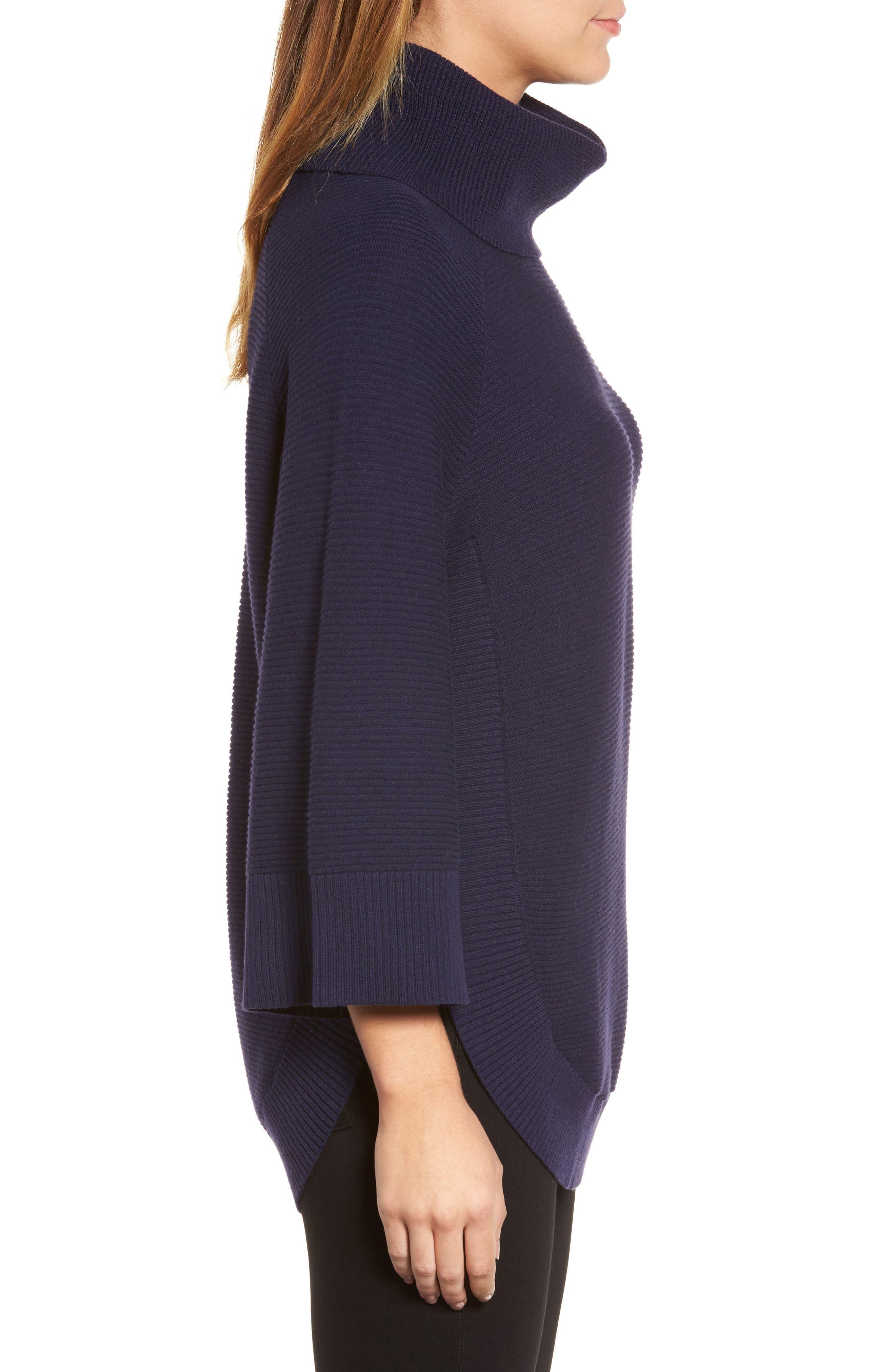 Cowl Neck Shirttail Hem Sweater,                             Alternate thumbnail 8, color,