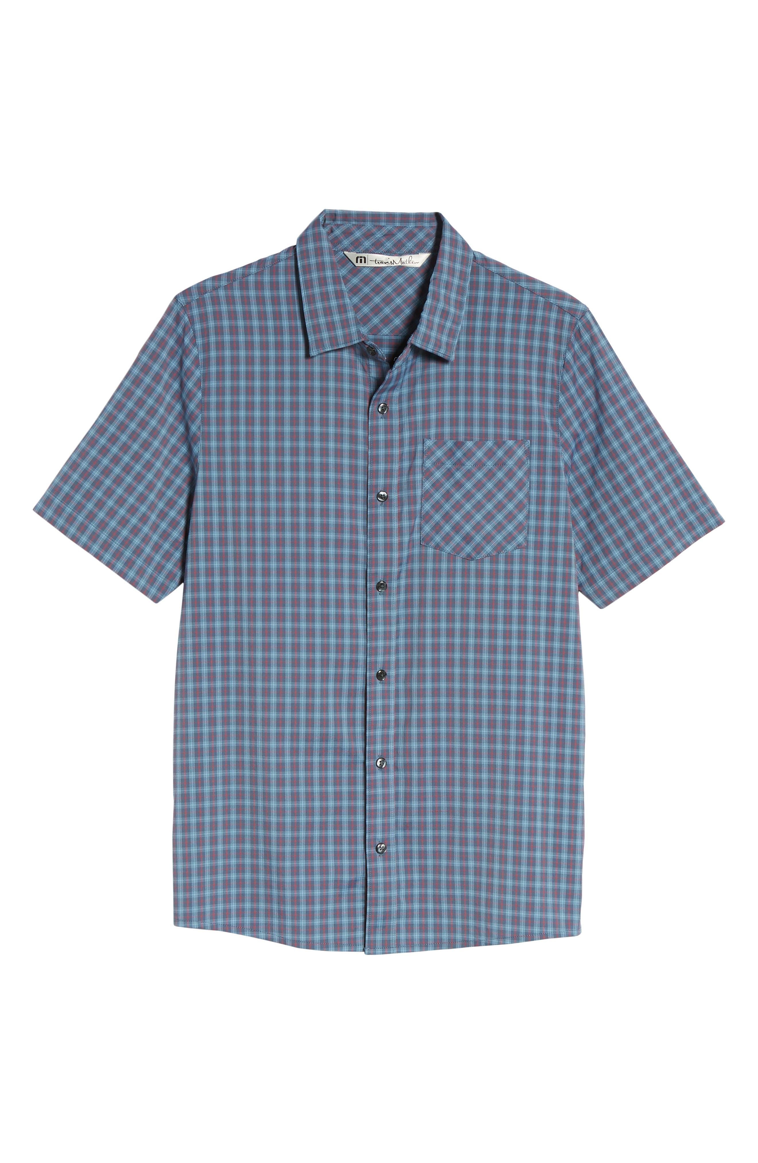 Smoke Bomb Regular Fit Short Sleeve Sport Shirt,                             Alternate thumbnail 6, color,                             400