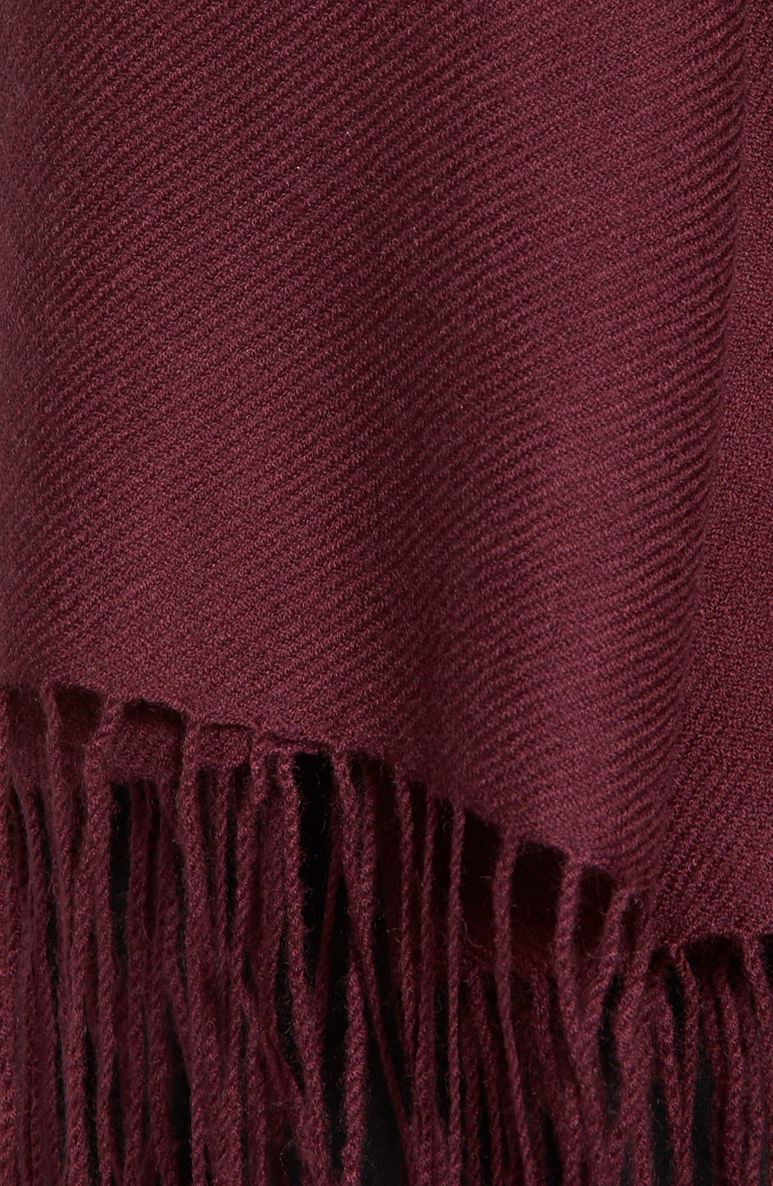 Tissue Weight Wool & Cashmere Scarf,                             Alternate thumbnail 209, color,