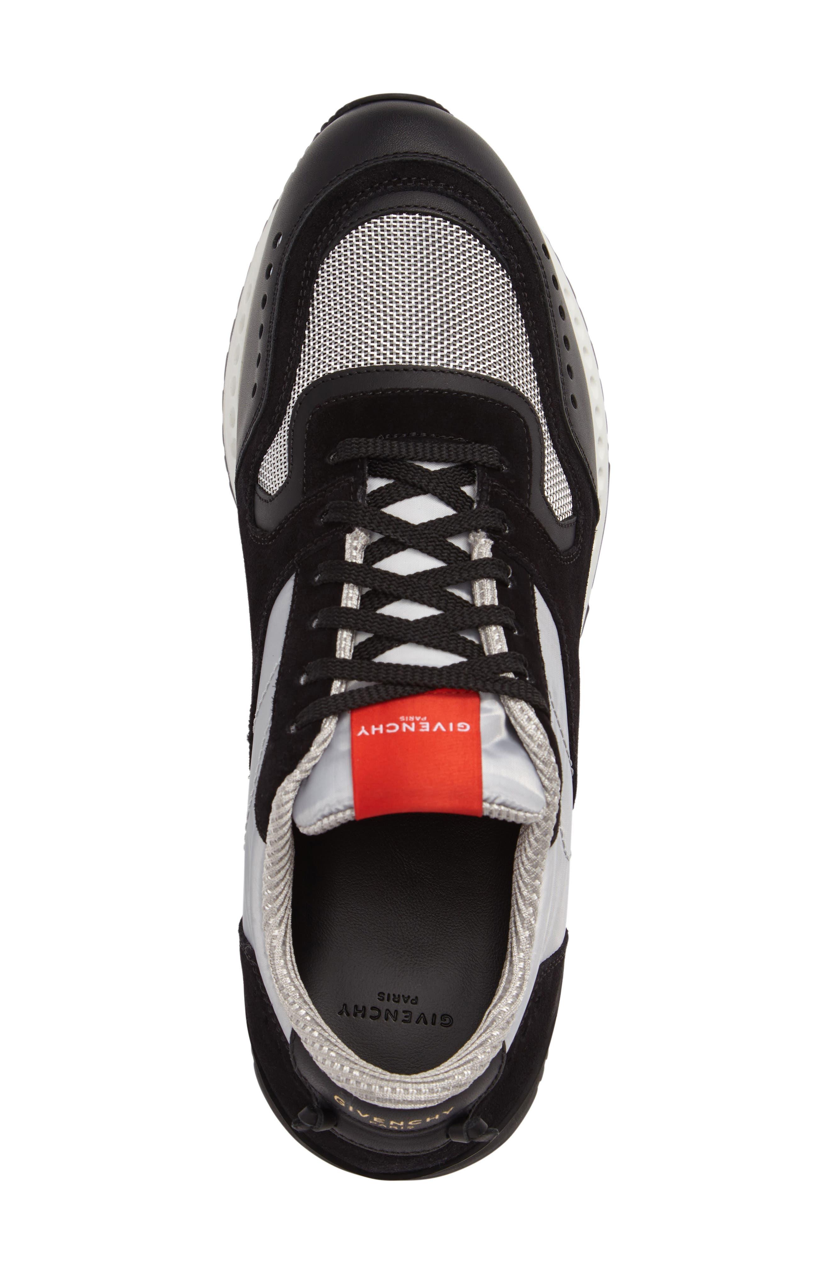 Mixed-Finish Sneaker,                             Alternate thumbnail 3, color,                             008