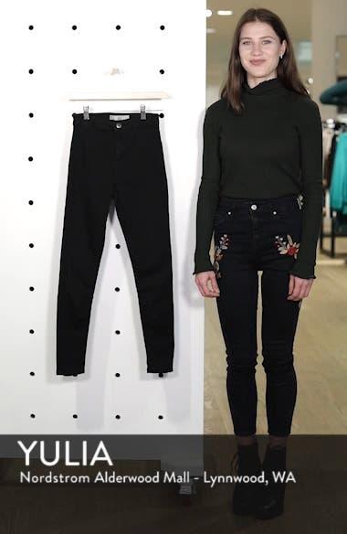 Joni High Waist Skinny Jeans, sales video thumbnail