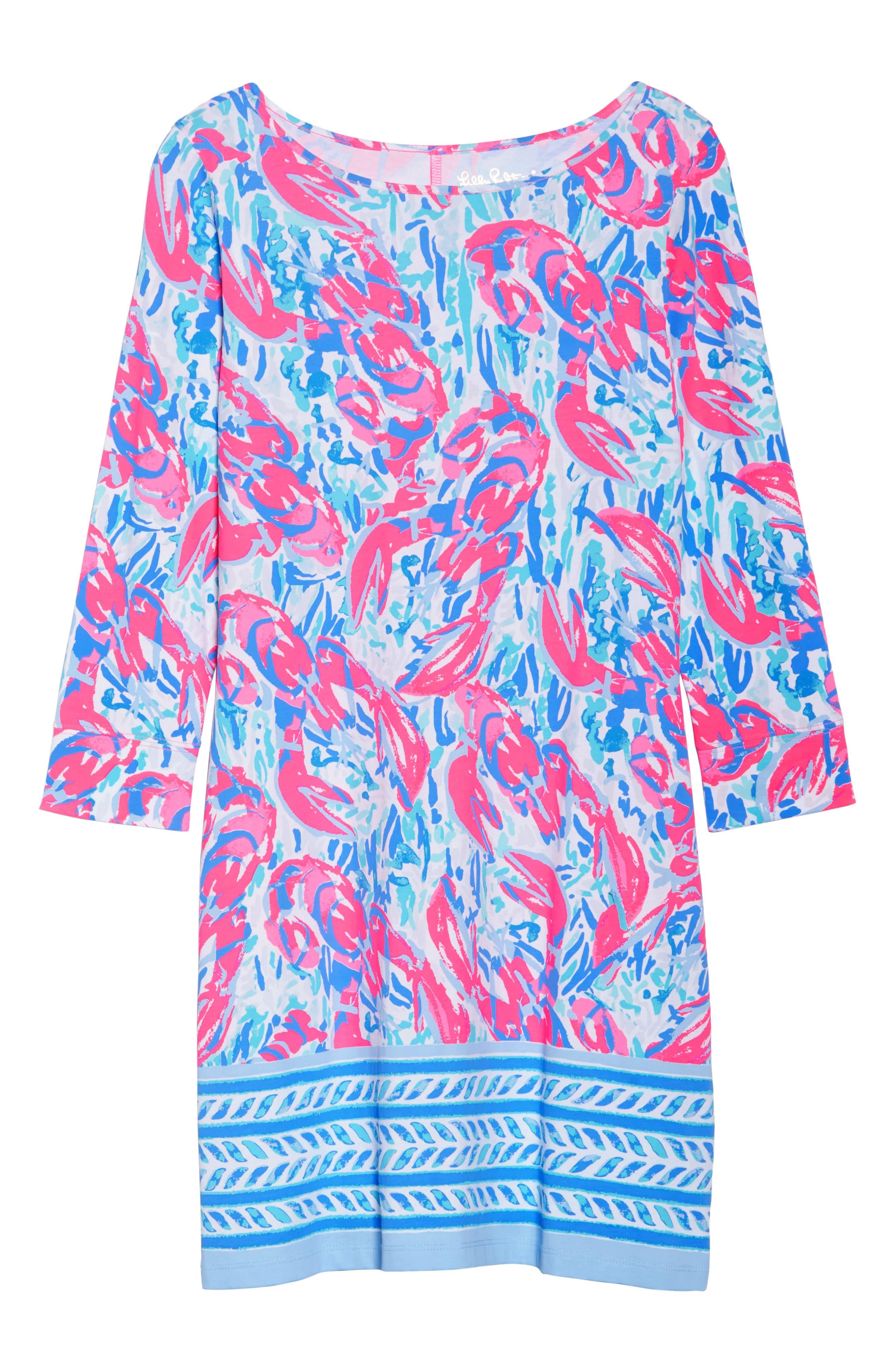 Marlowe Shift Dress,                             Alternate thumbnail 7, color,                             695