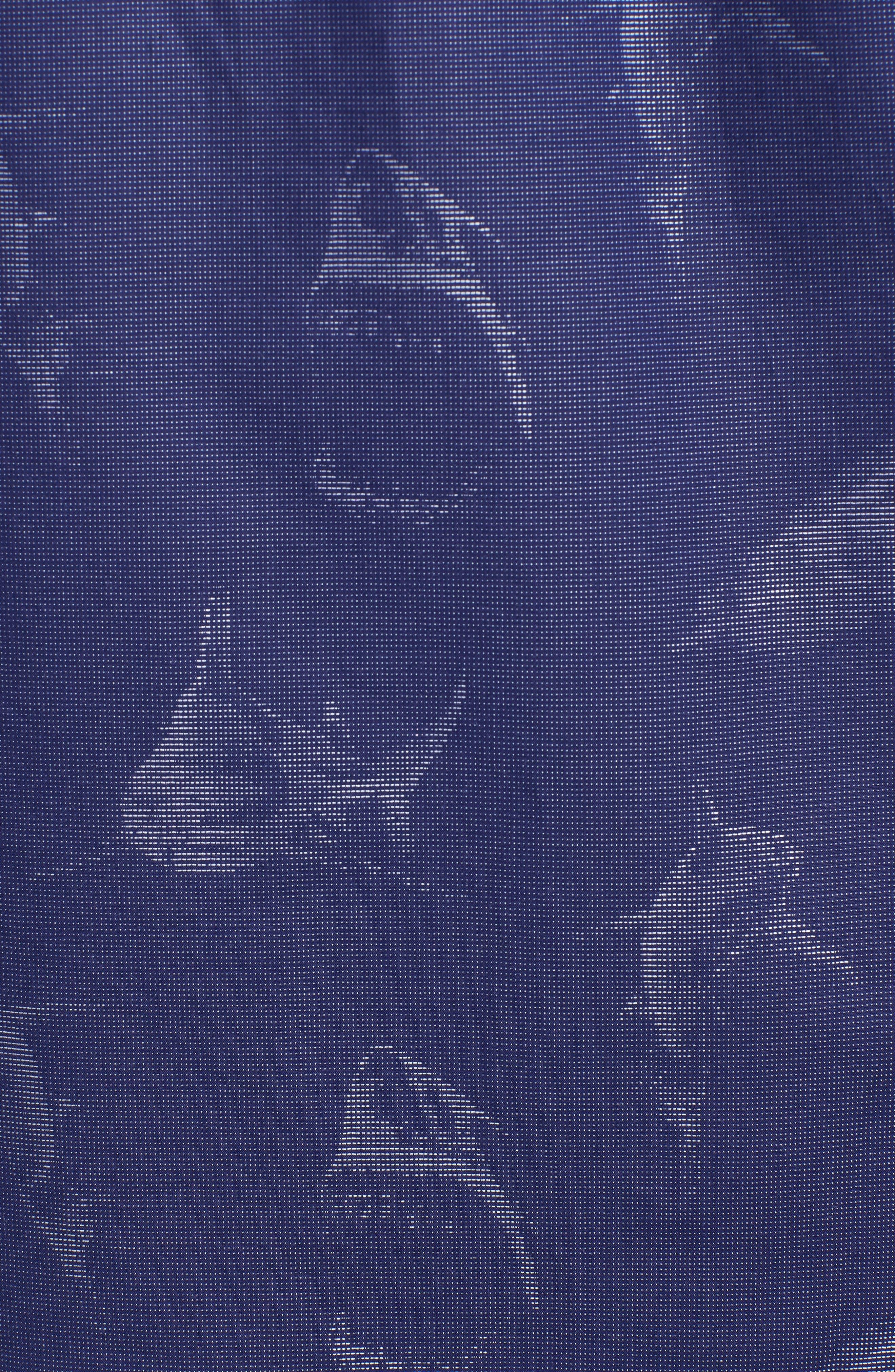 Classic Fit Shark Jacquard Sport Shirt,                             Alternate thumbnail 5, color,                             411