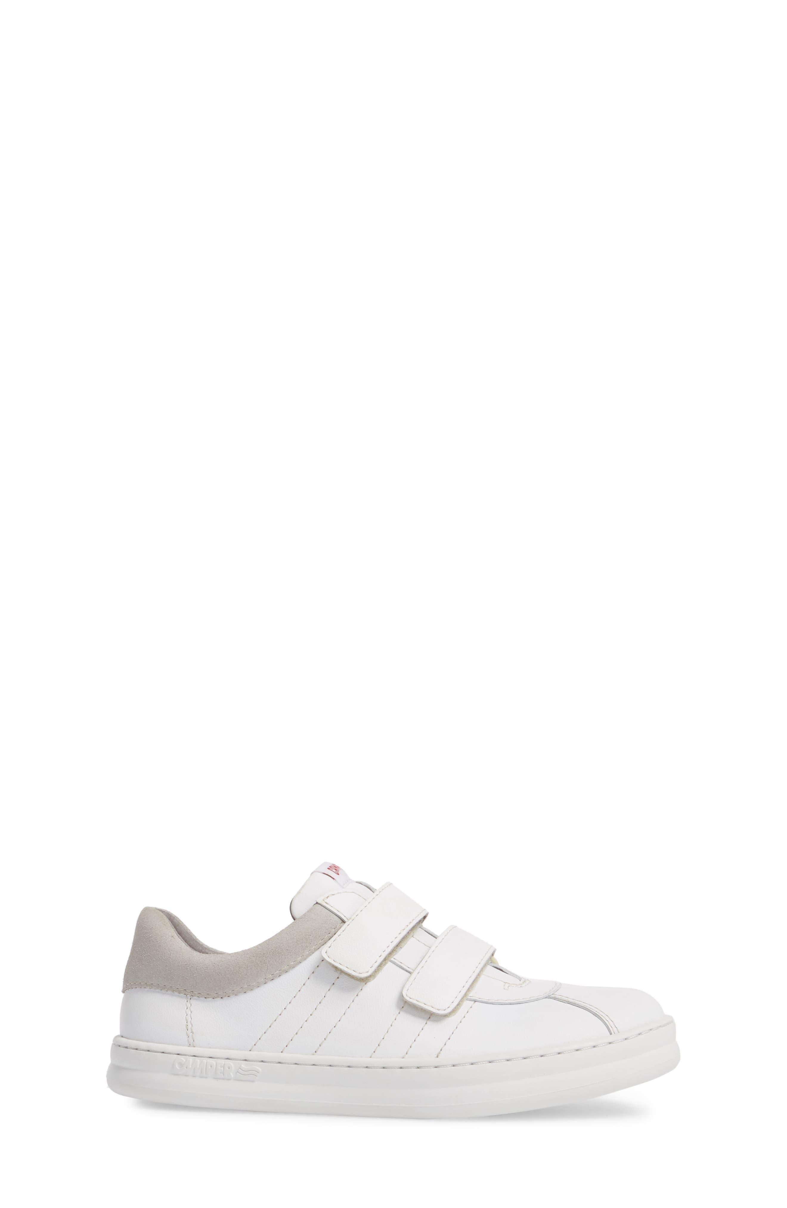 Runner Sneaker,                             Alternate thumbnail 3, color,                             WHITE