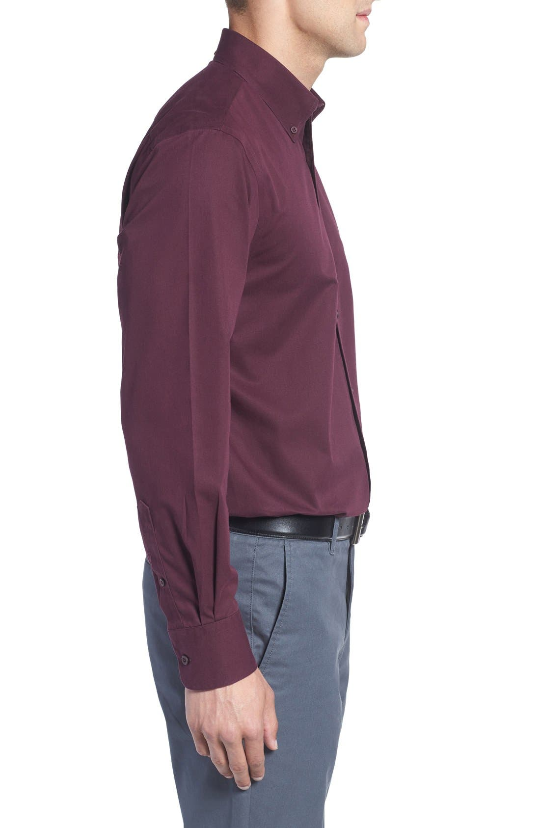 Smartcare<sup>™</sup> Traditional Fit Twill Boat Shirt,                             Alternate thumbnail 106, color,