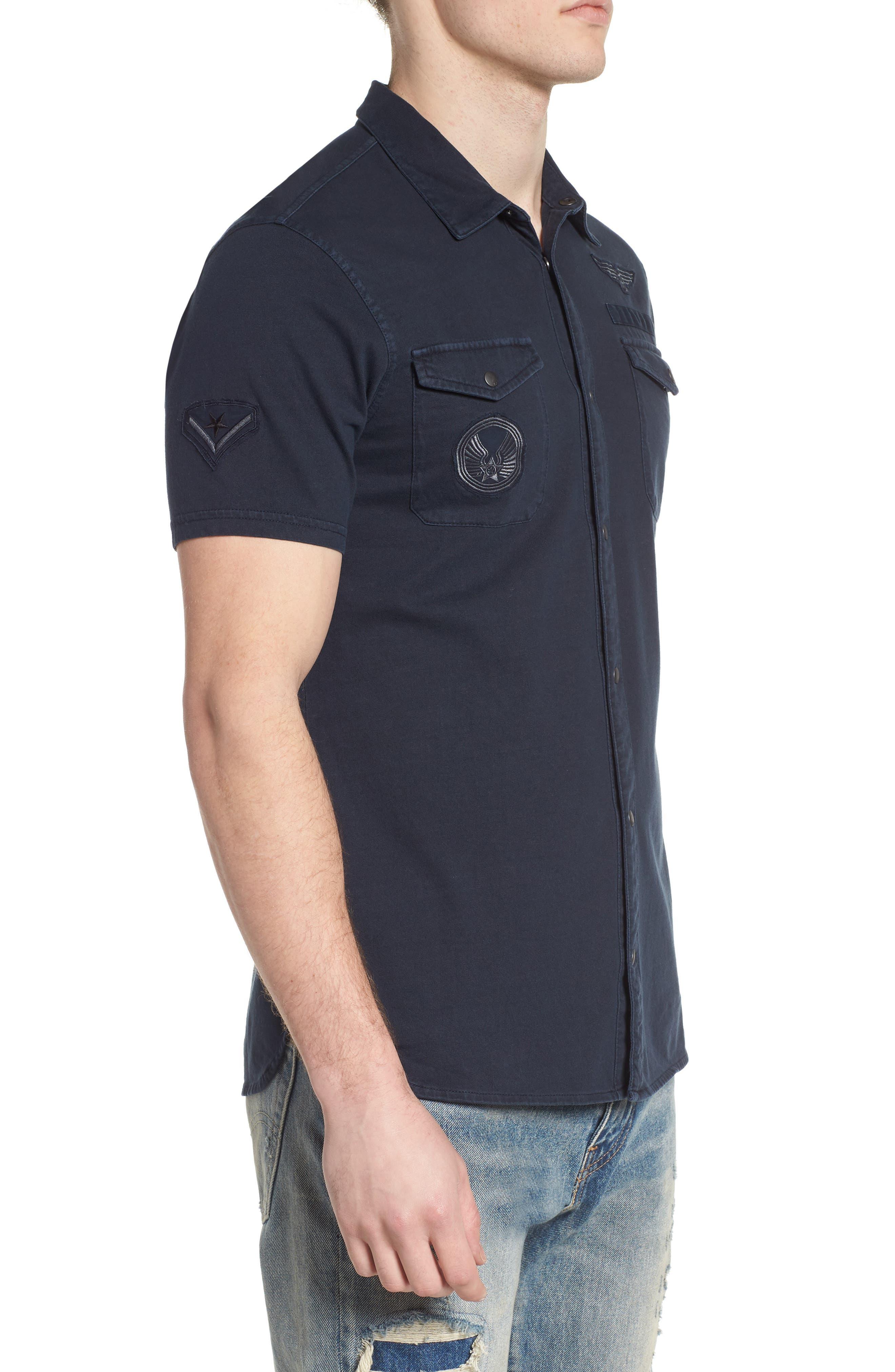 Extra Slim Fit Sport Shirt,                             Alternate thumbnail 3, color,                             490
