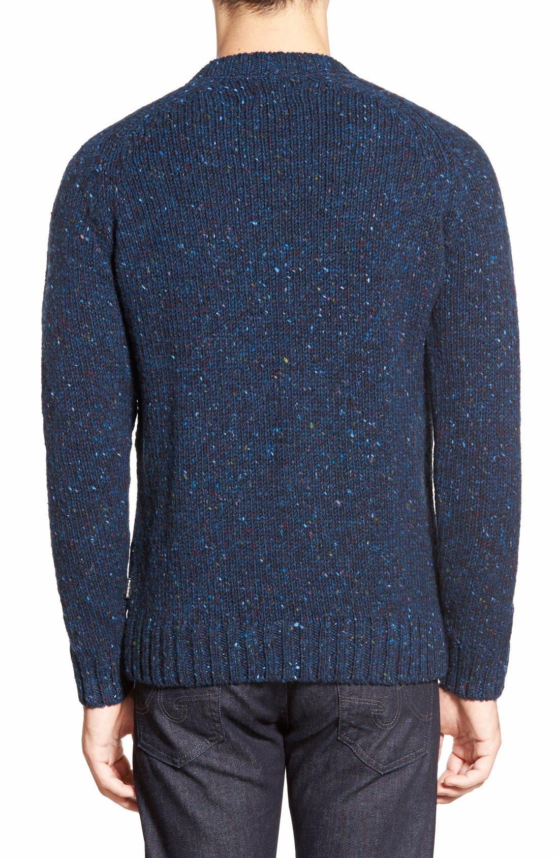 'Netherby' Kilcara Tweed Crewneck Sweater,                             Alternate thumbnail 2, color,                             400