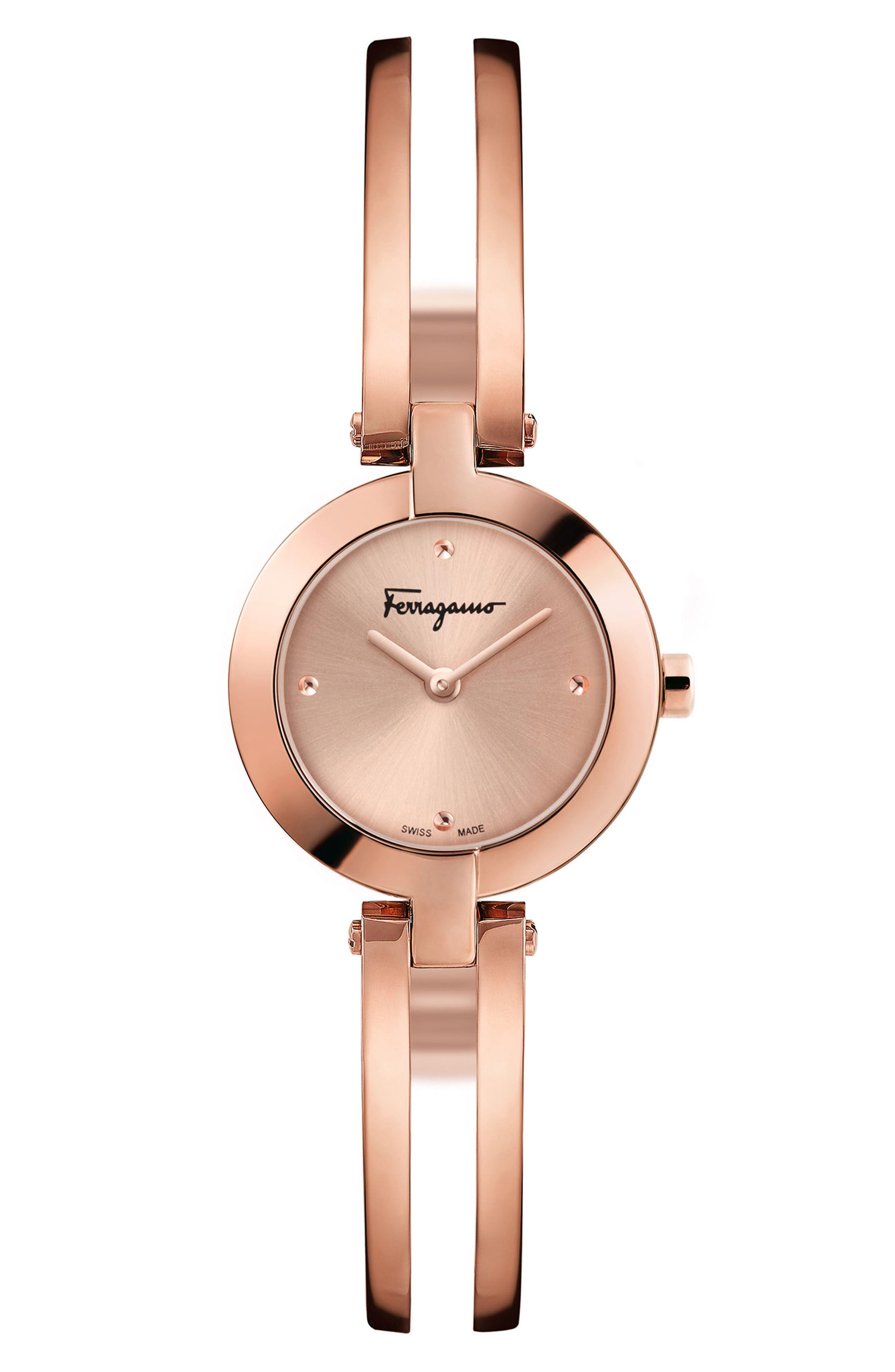 Miniature Bracelet Watch, 26mm,                         Main,                         color, ROSE GOLD