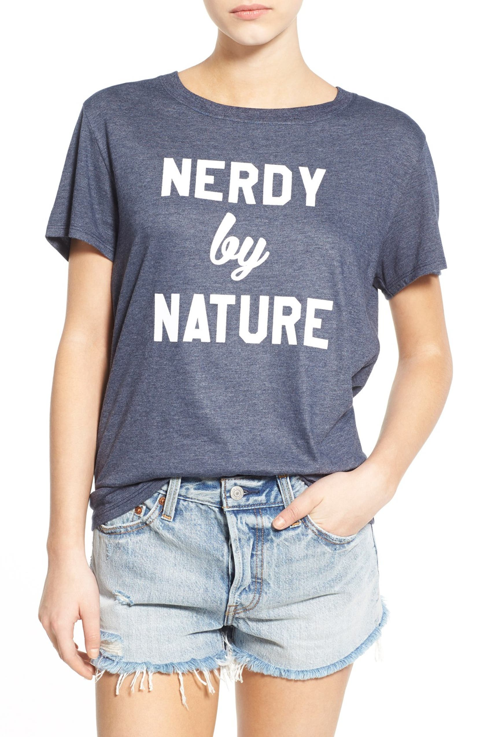 8db14c7c2a0 Sub Urban Riot  Nerdy by Nature  Graphic Tee