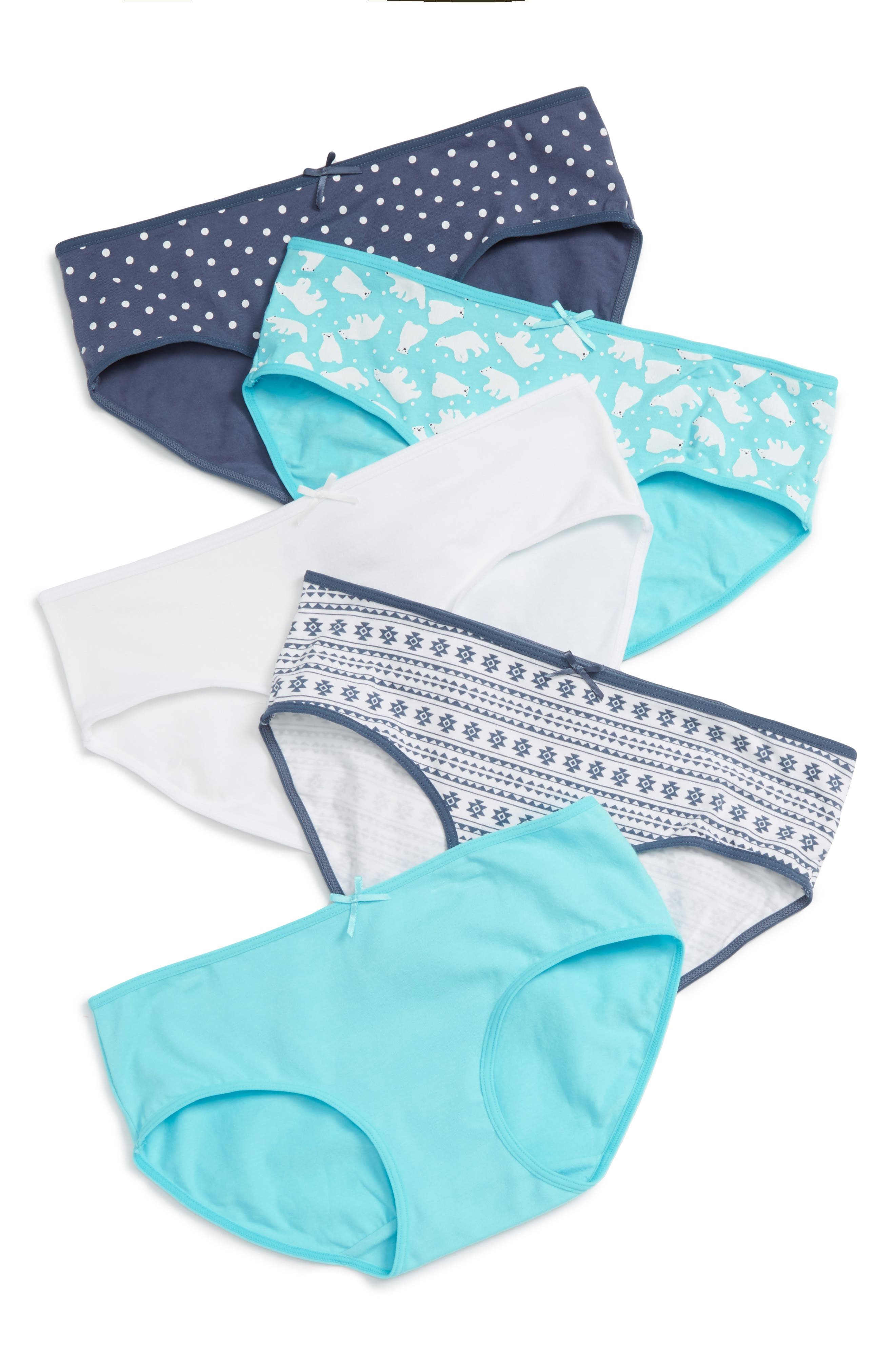 5-Pack Hipster Briefs,                             Alternate thumbnail 123, color,