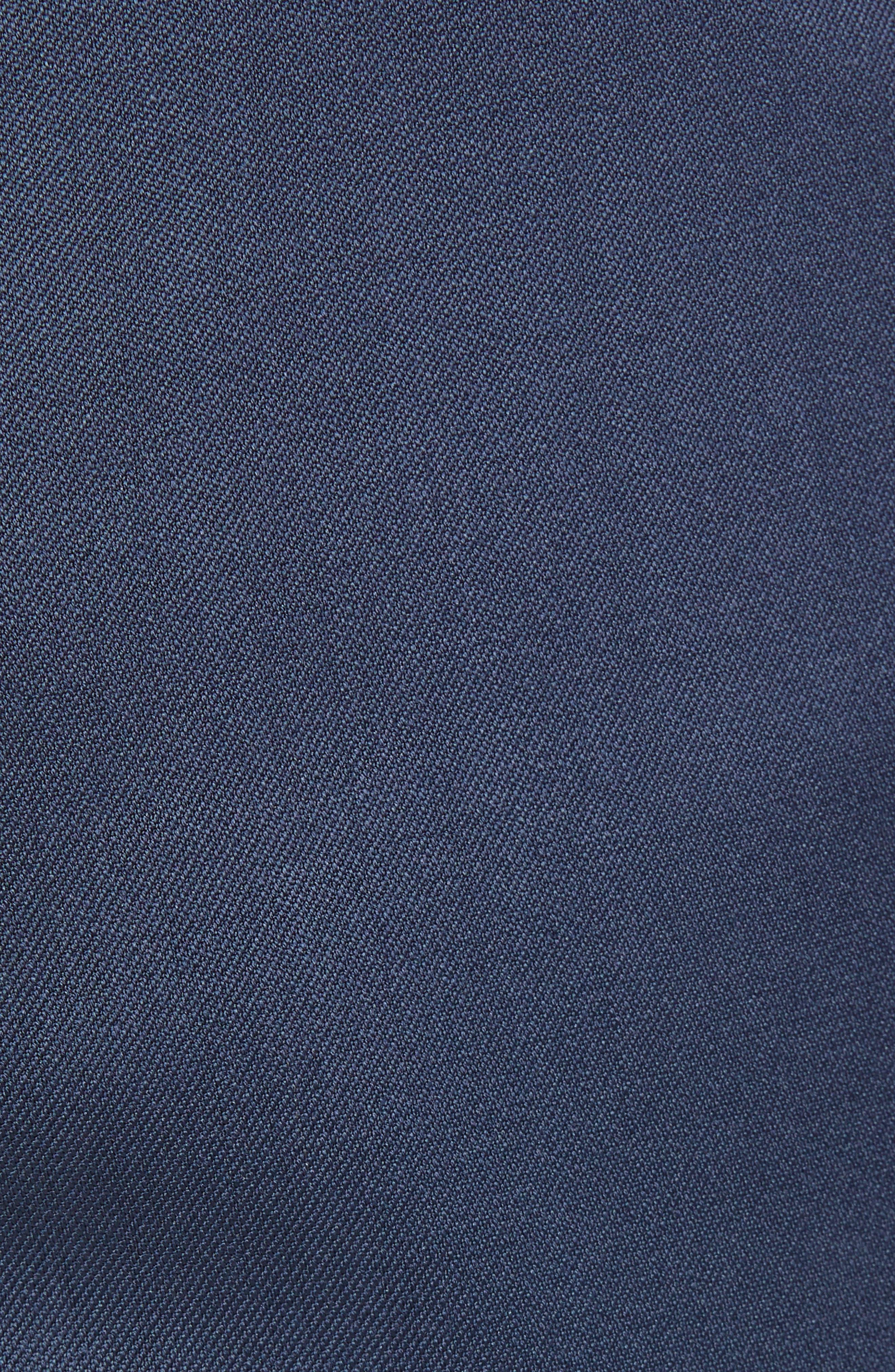 Torino Flat Front Wool Gabardine Trousers,                             Alternate thumbnail 30, color,