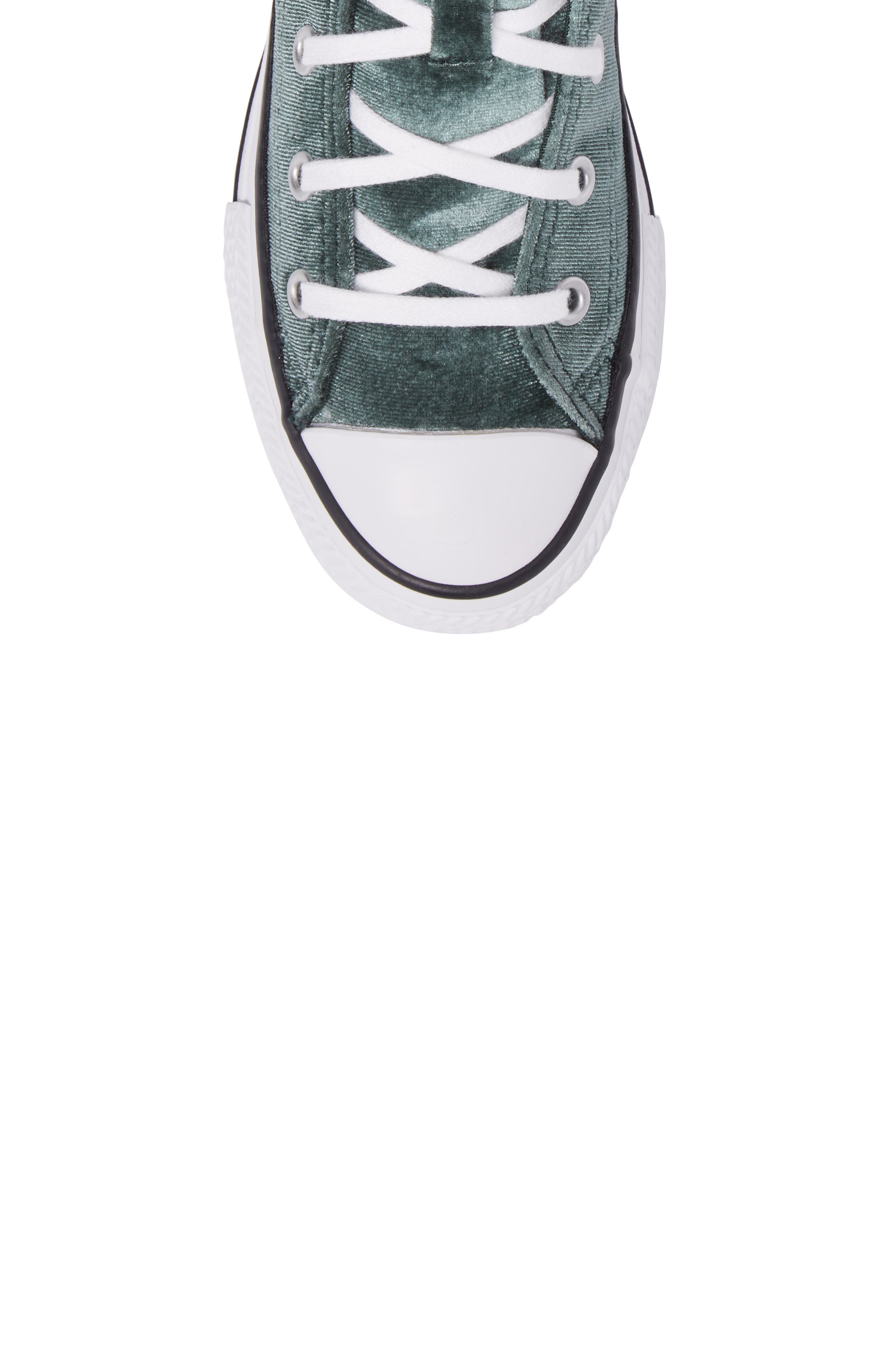 Chuck Taylor<sup>®</sup> All Star<sup>®</sup> Velvet High Top Sneaker,                             Alternate thumbnail 5, color,                             300