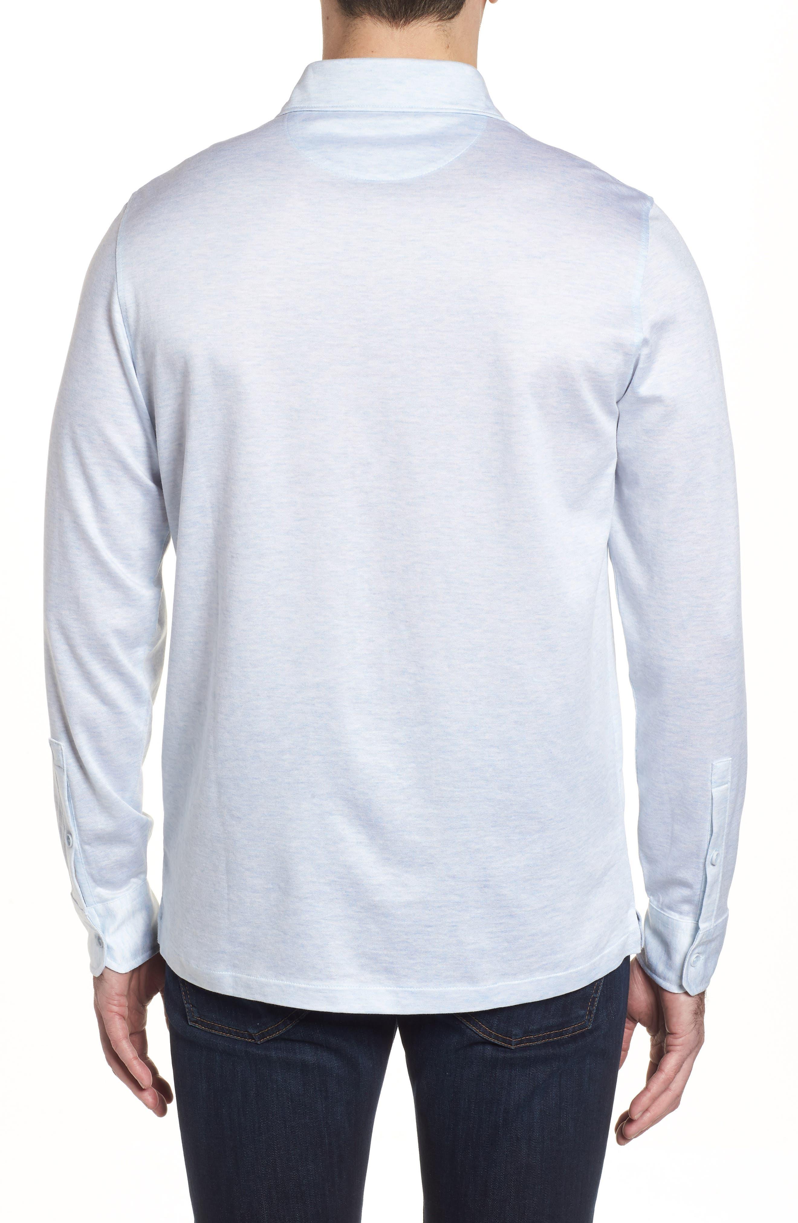 Regular Fit Silk Blend Sport Shirt,                             Alternate thumbnail 10, color,