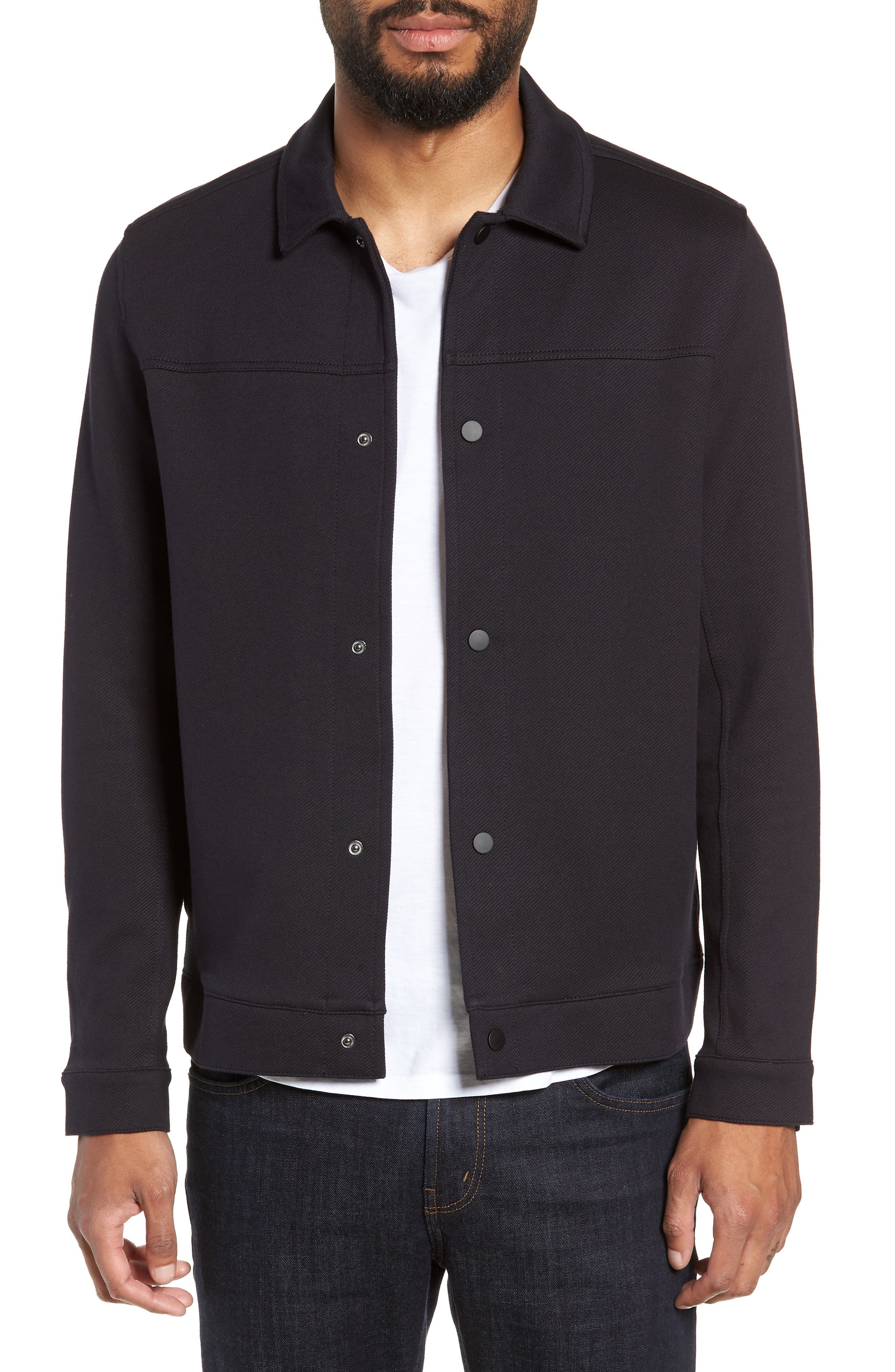 Marcus Regular Fit Jacket,                         Main,                         color, NIGHT SKY