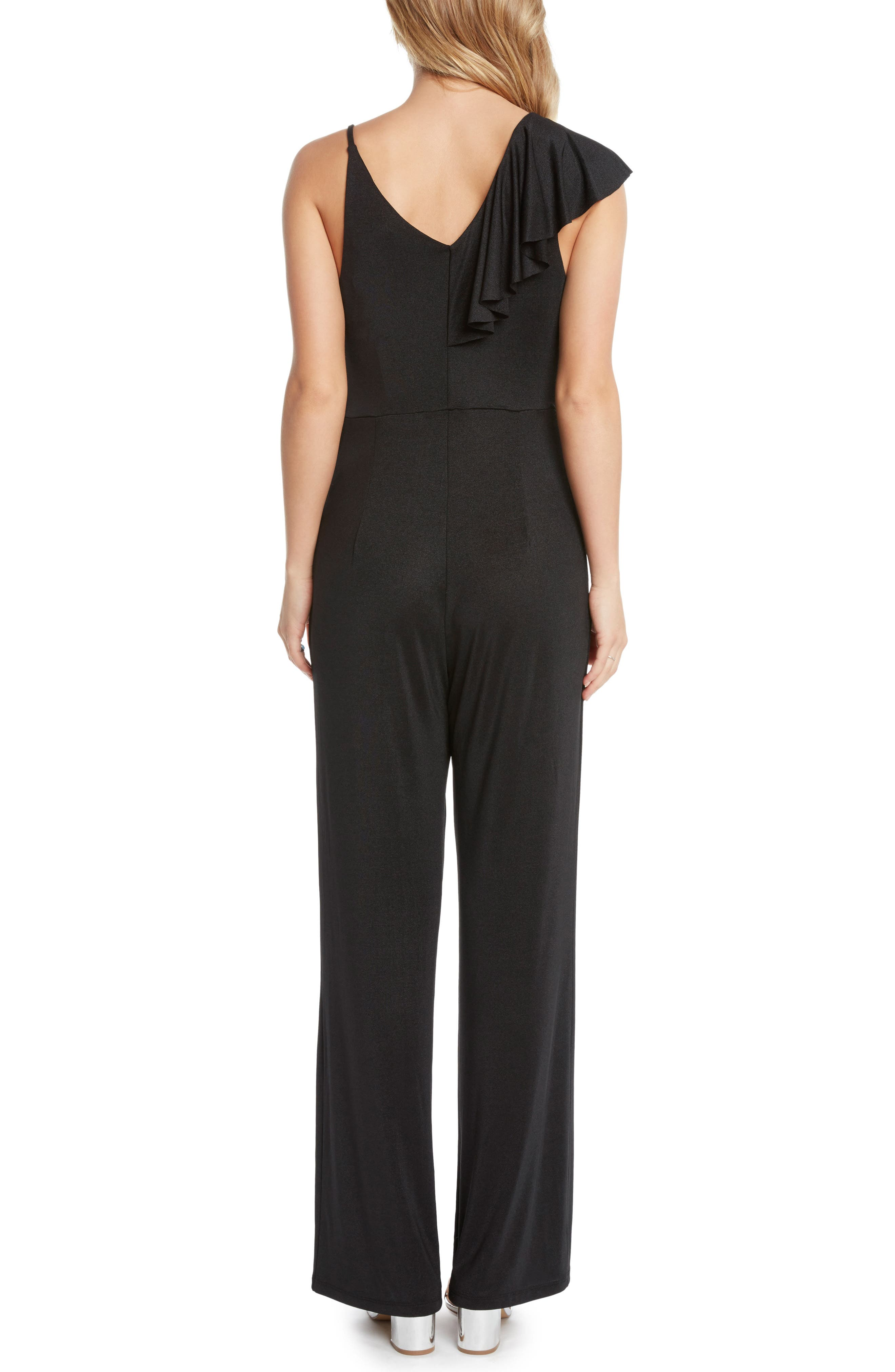 Ruffle Jumpsuit,                             Alternate thumbnail 2, color,