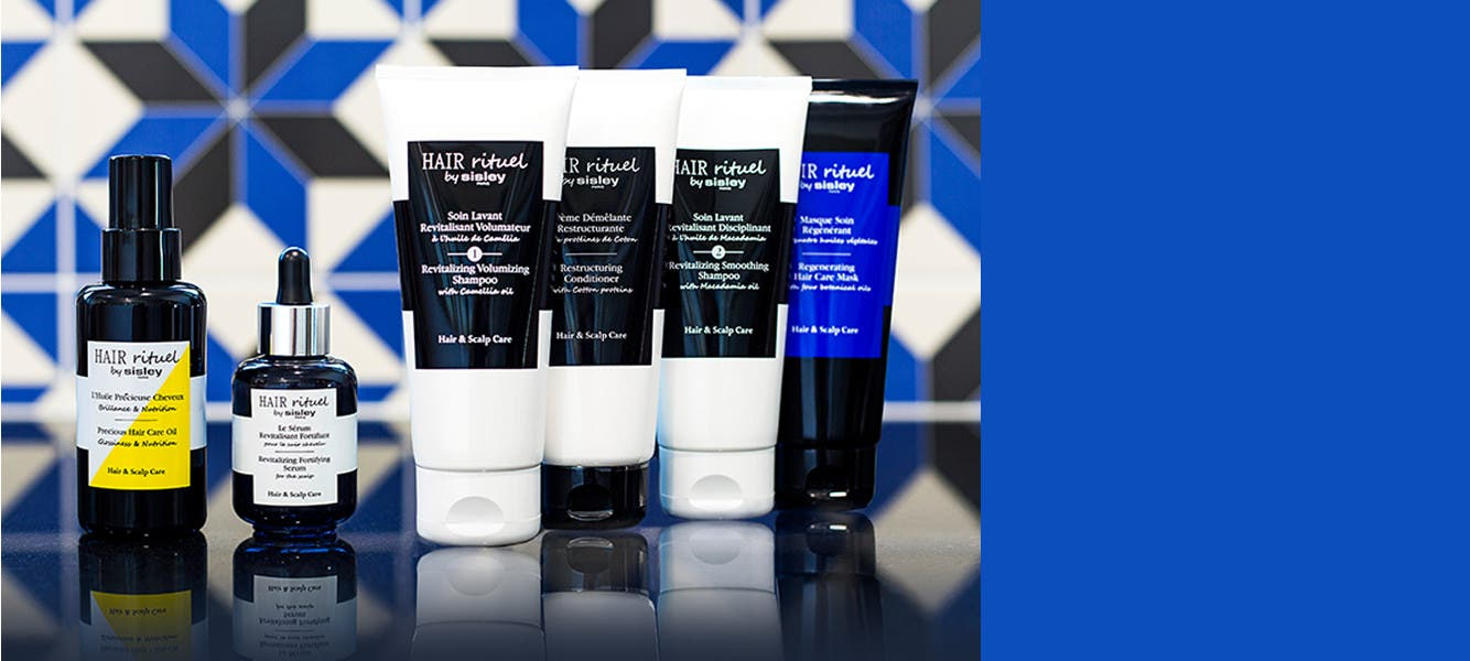 New from Sisley, Hair Rituel, six concentrated hair care treatments.