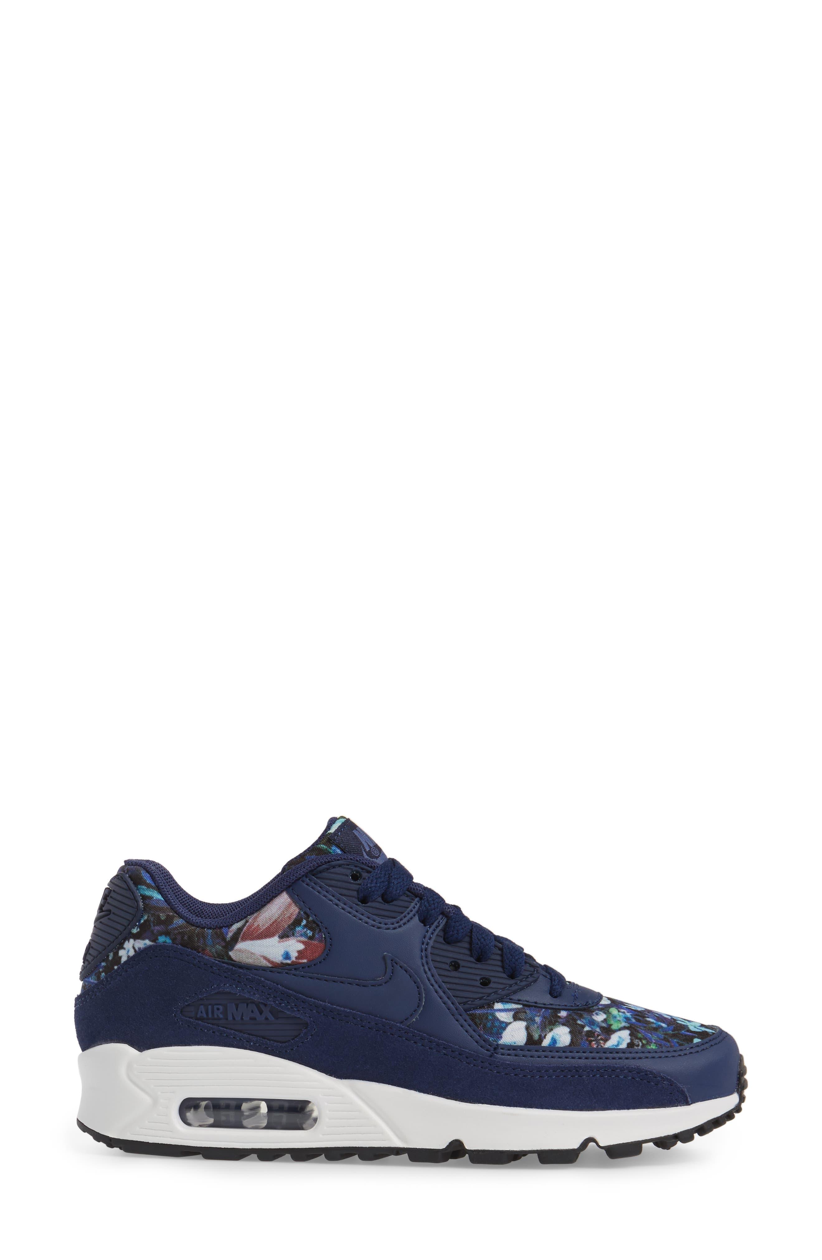 Air Max 90 SE Sneaker,                             Alternate thumbnail 24, color,