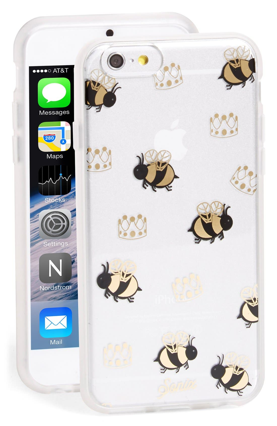 'Queen Bee' iPhone 6 & 6s Case,                             Main thumbnail 1, color,                             710