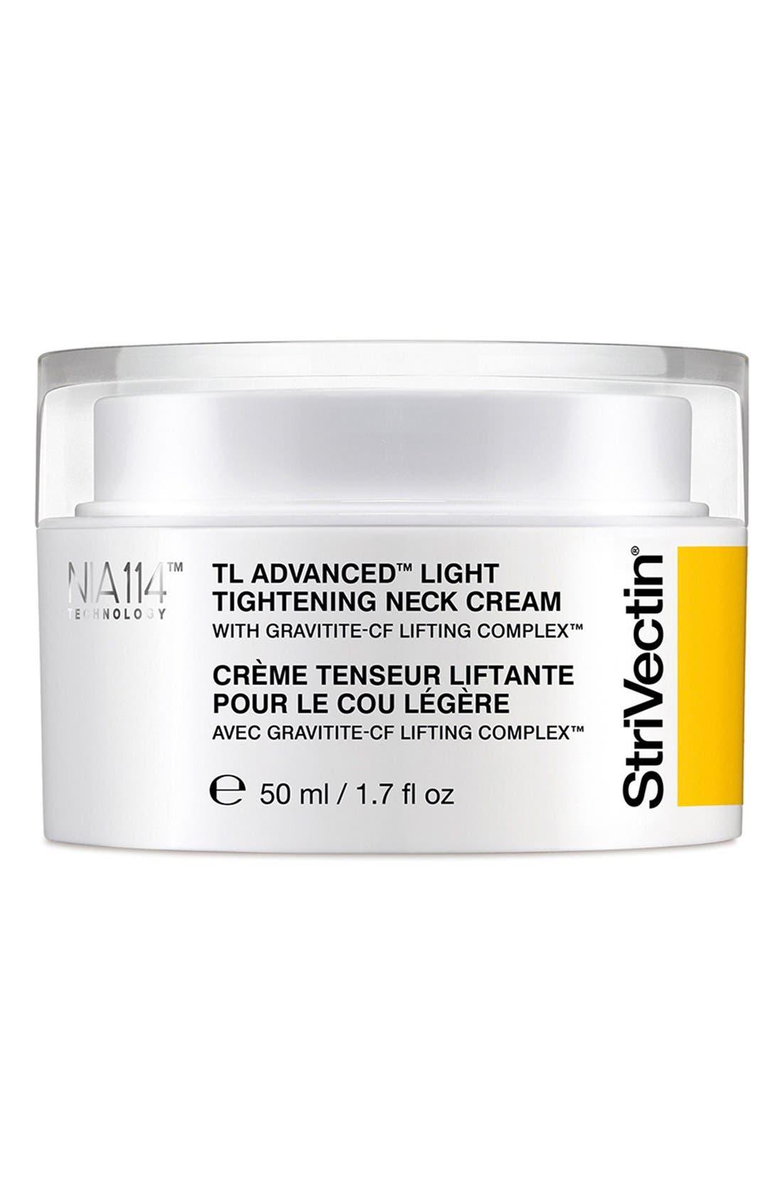 StriVectin-TL<sup>™</sup> Advanced Light Tightening Neck Cream,                             Main thumbnail 1, color,                             NO COLOR