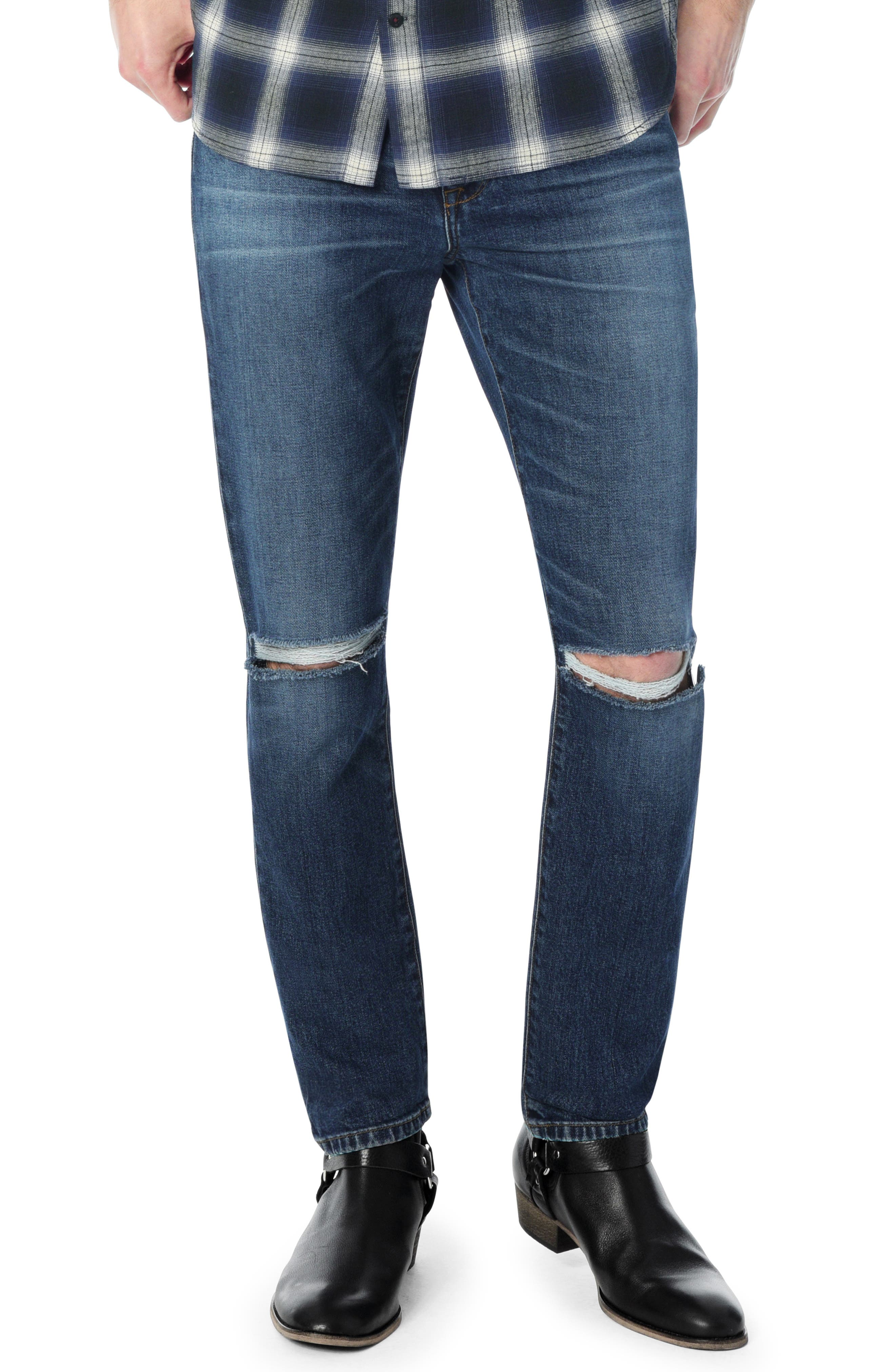 Slim Fit Jeans,                             Main thumbnail 1, color,                             BUSTER