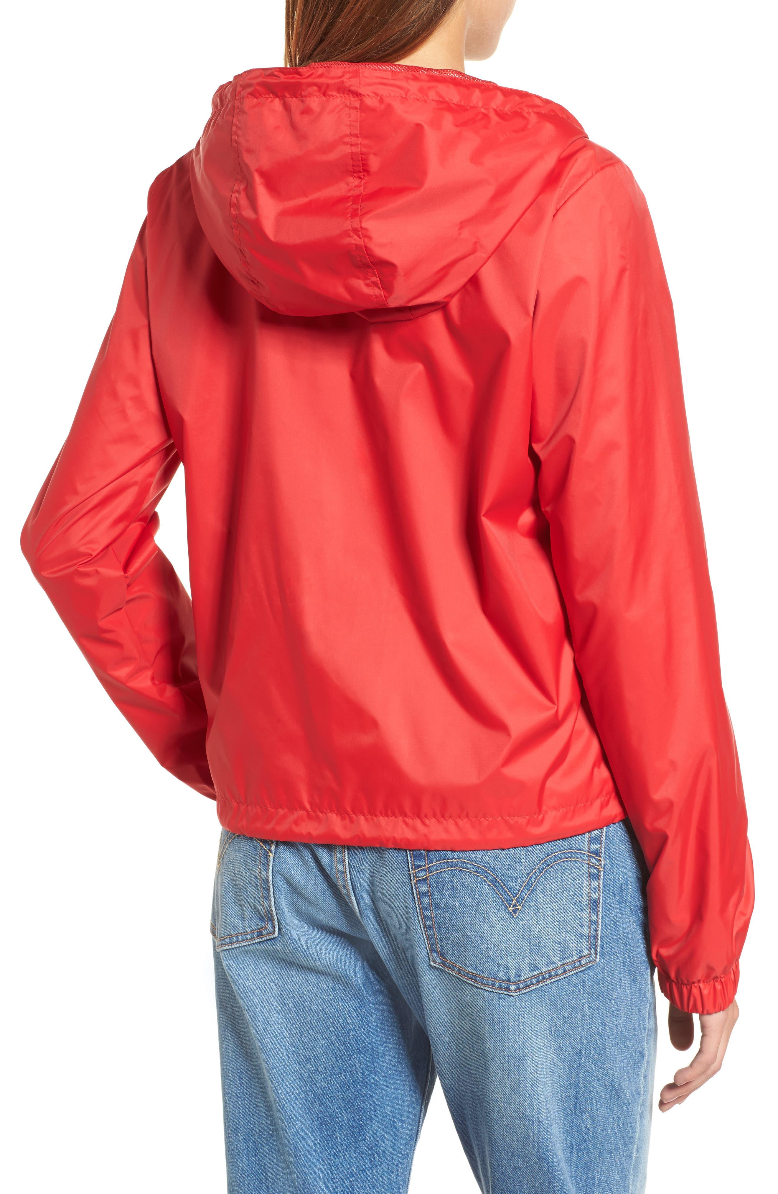 Retro Hooded Coach's Jacket,                             Alternate thumbnail 10, color,