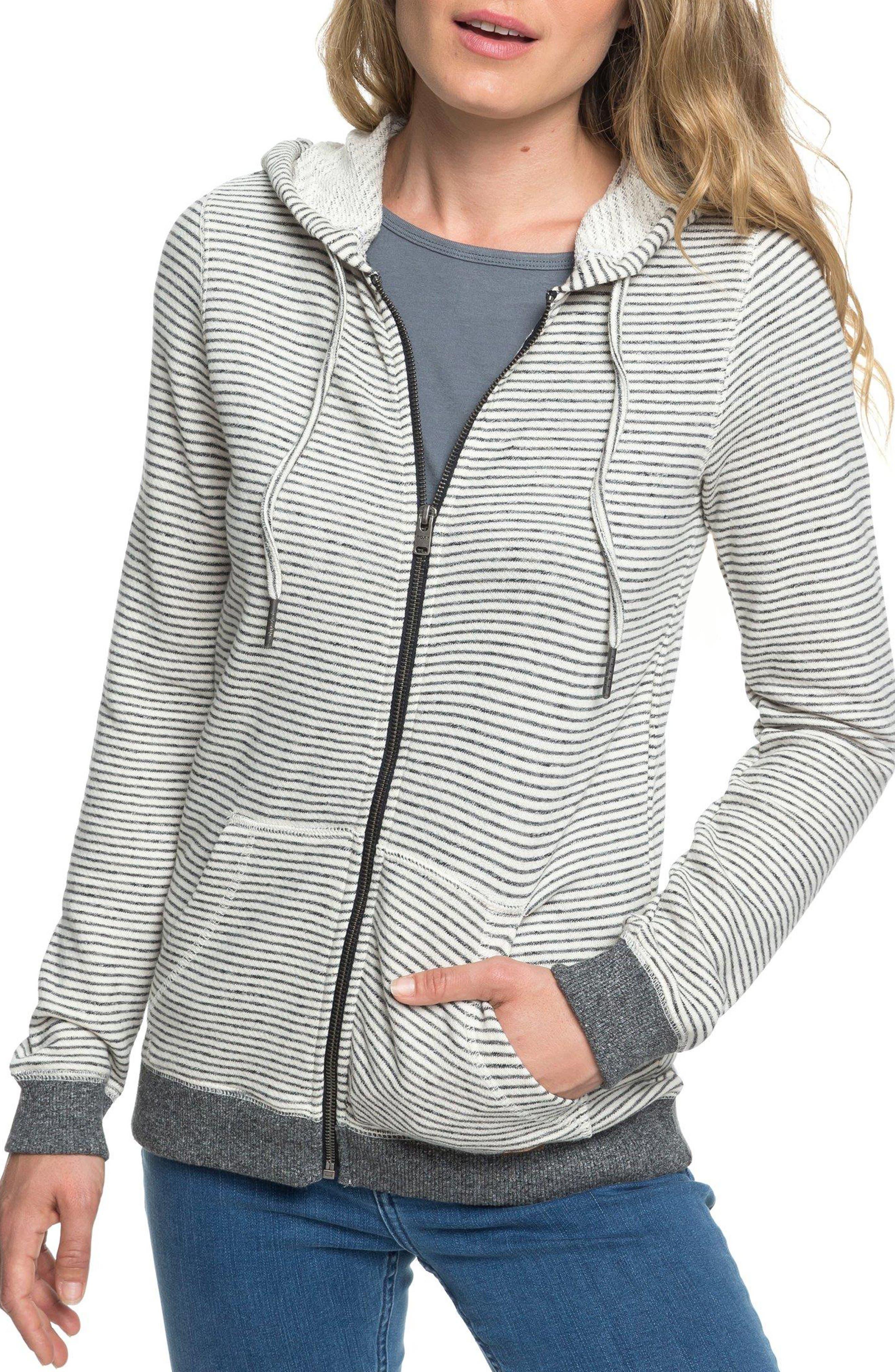 Trippin Stripe Hoodie,                         Main,                         color, TURBULENCE THIN STRIPE APRIL