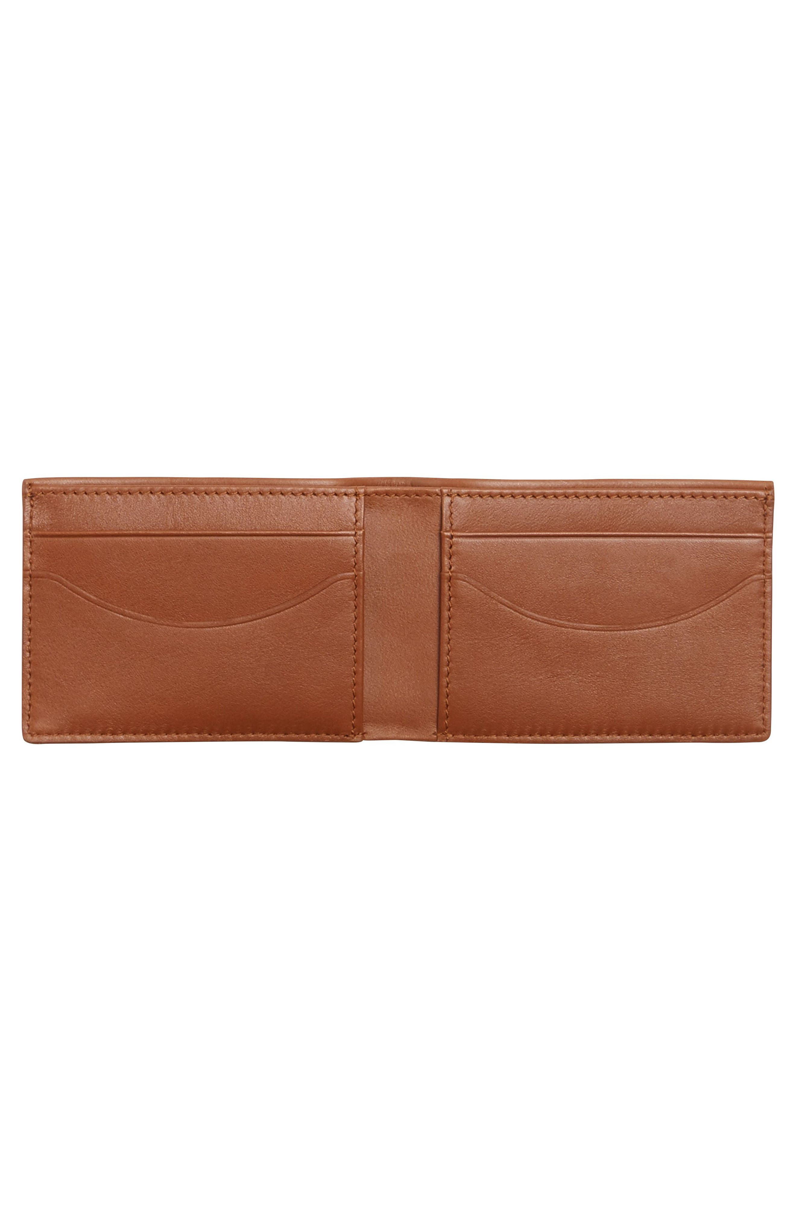 Leather Wallet,                             Alternate thumbnail 2, color,                             222
