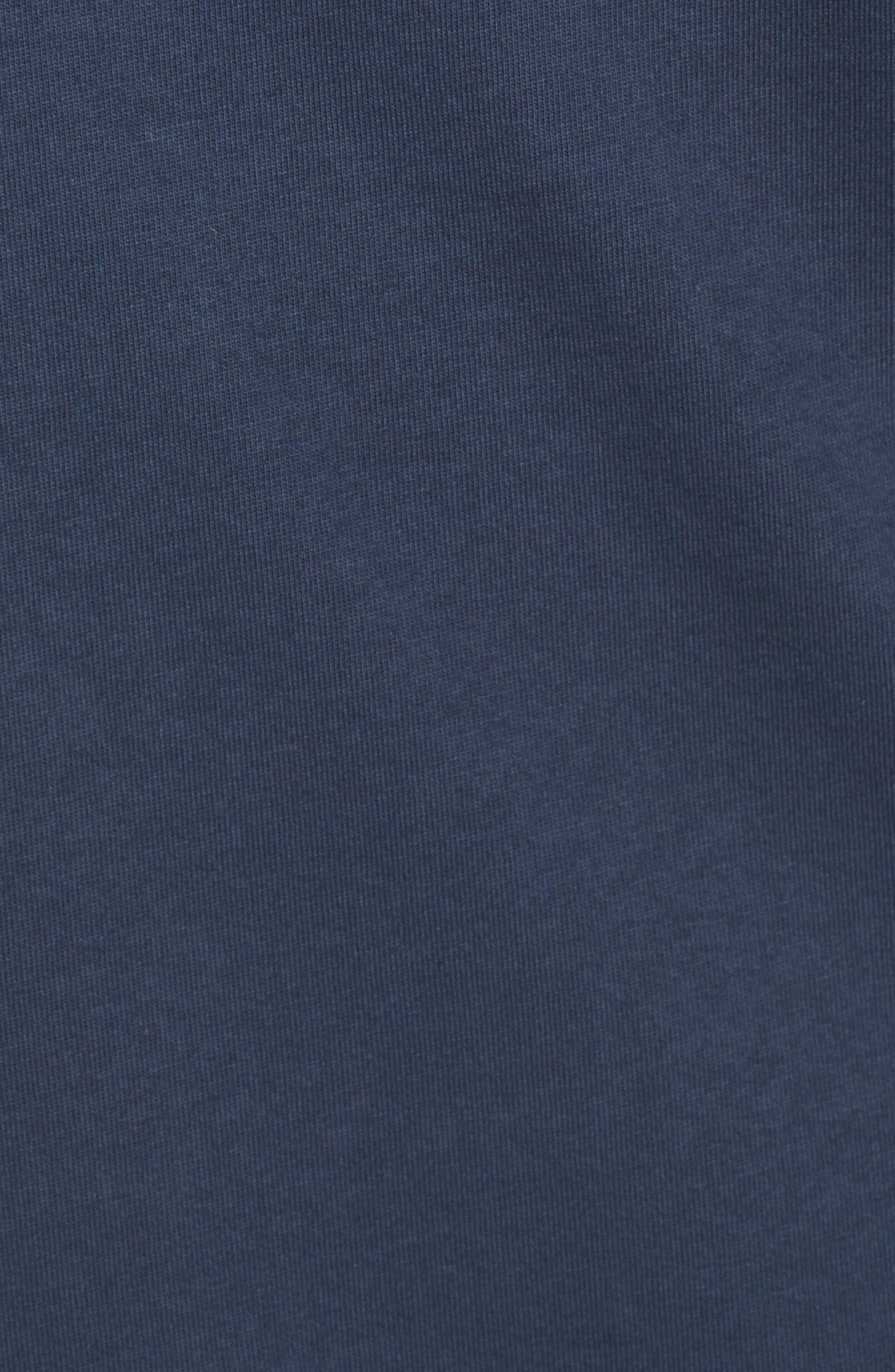 Whale Print Long Sleeve Tee,                             Alternate thumbnail 6, color,                             406