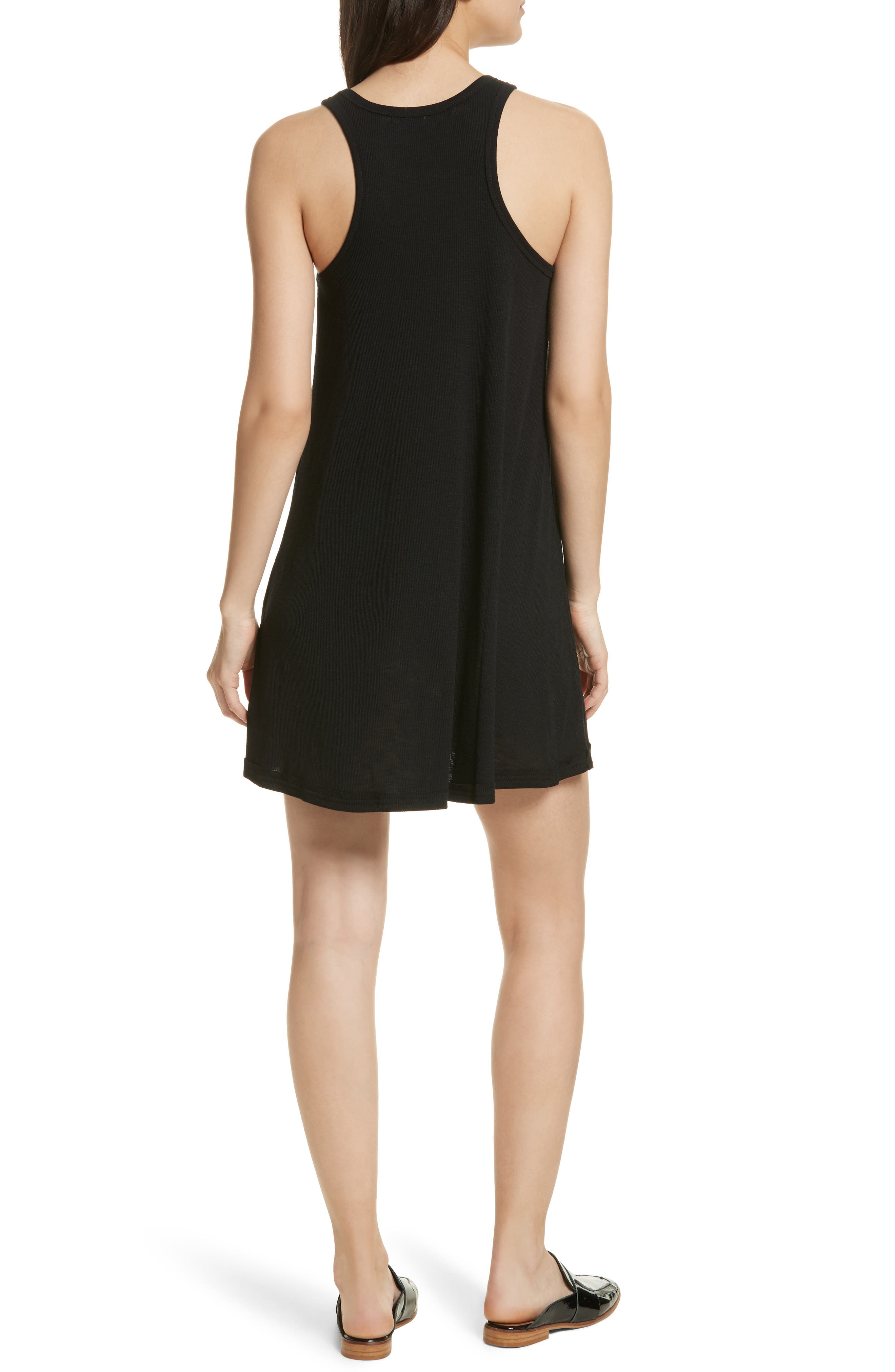 LA Nite Tank Dress,                             Alternate thumbnail 2, color,                             001