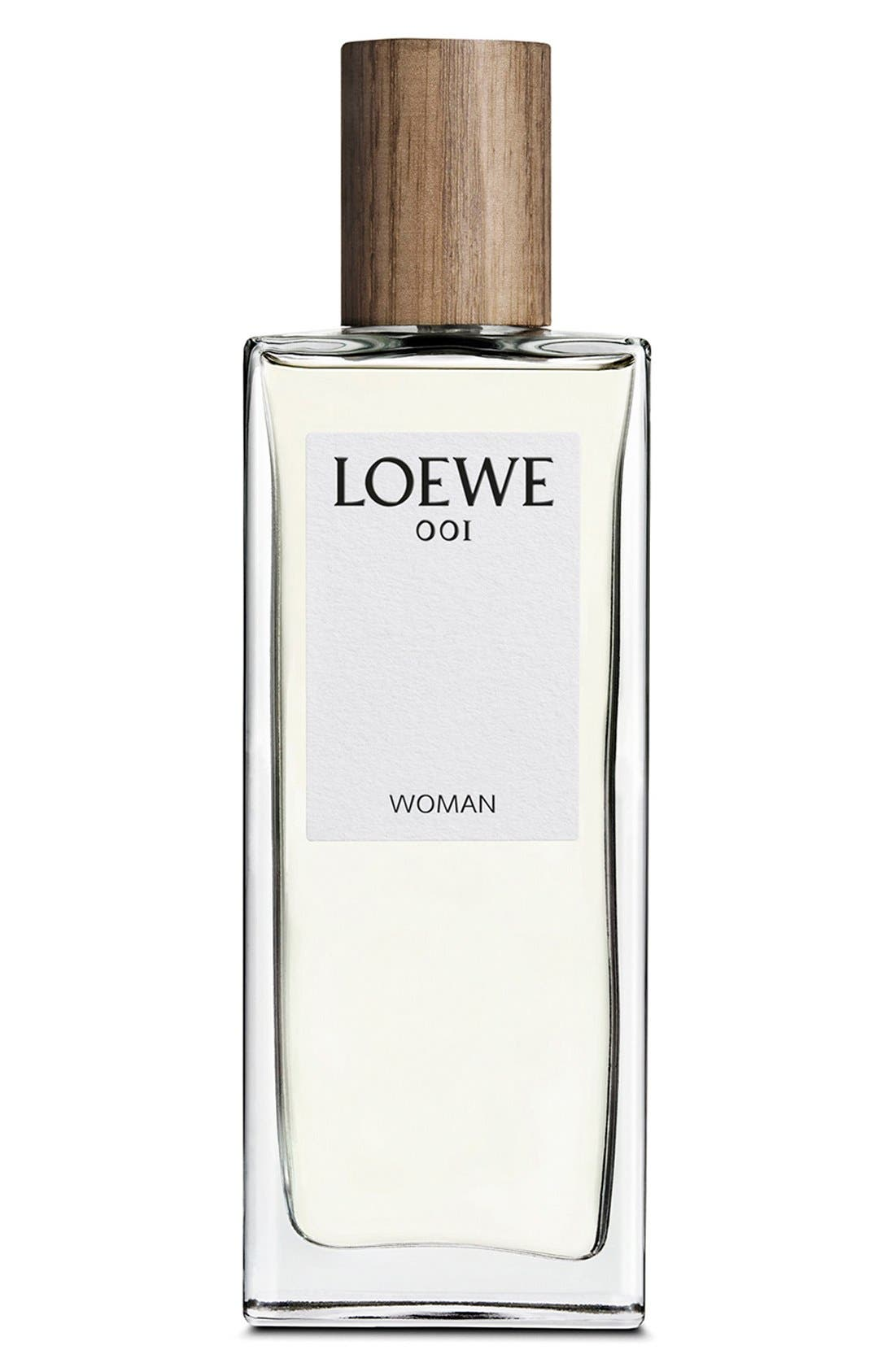 '001 Woman' Eau de Parfum,                             Main thumbnail 1, color,