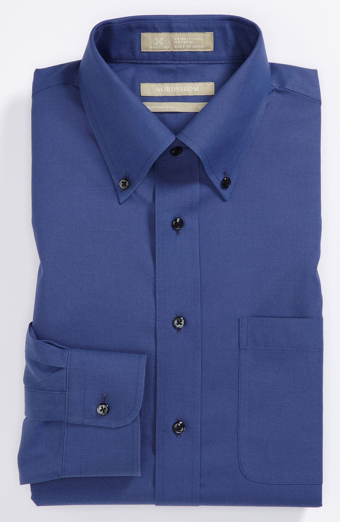 Smartcare<sup>™</sup> Traditional Fit Pinpoint Dress Shirt,                             Main thumbnail 24, color,